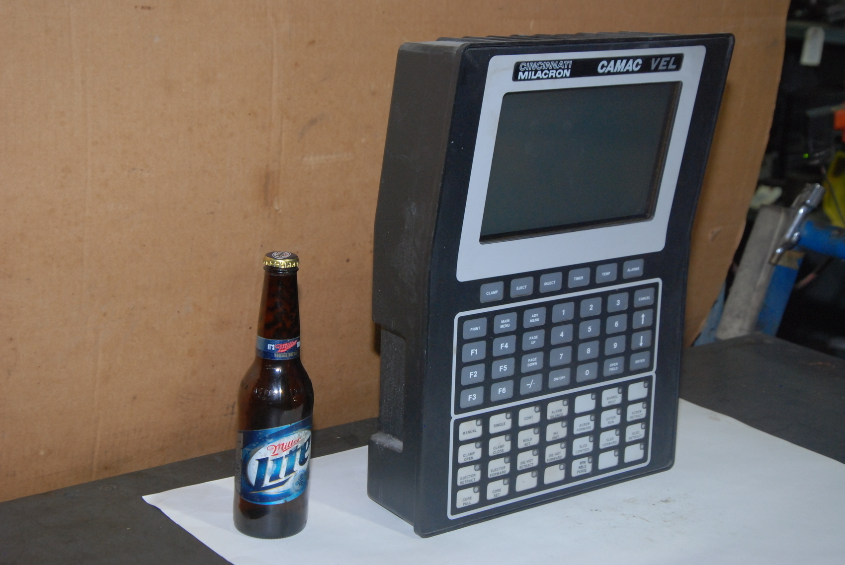 camac Vel monitor Cincinnati milacron injection molder vh 250-21