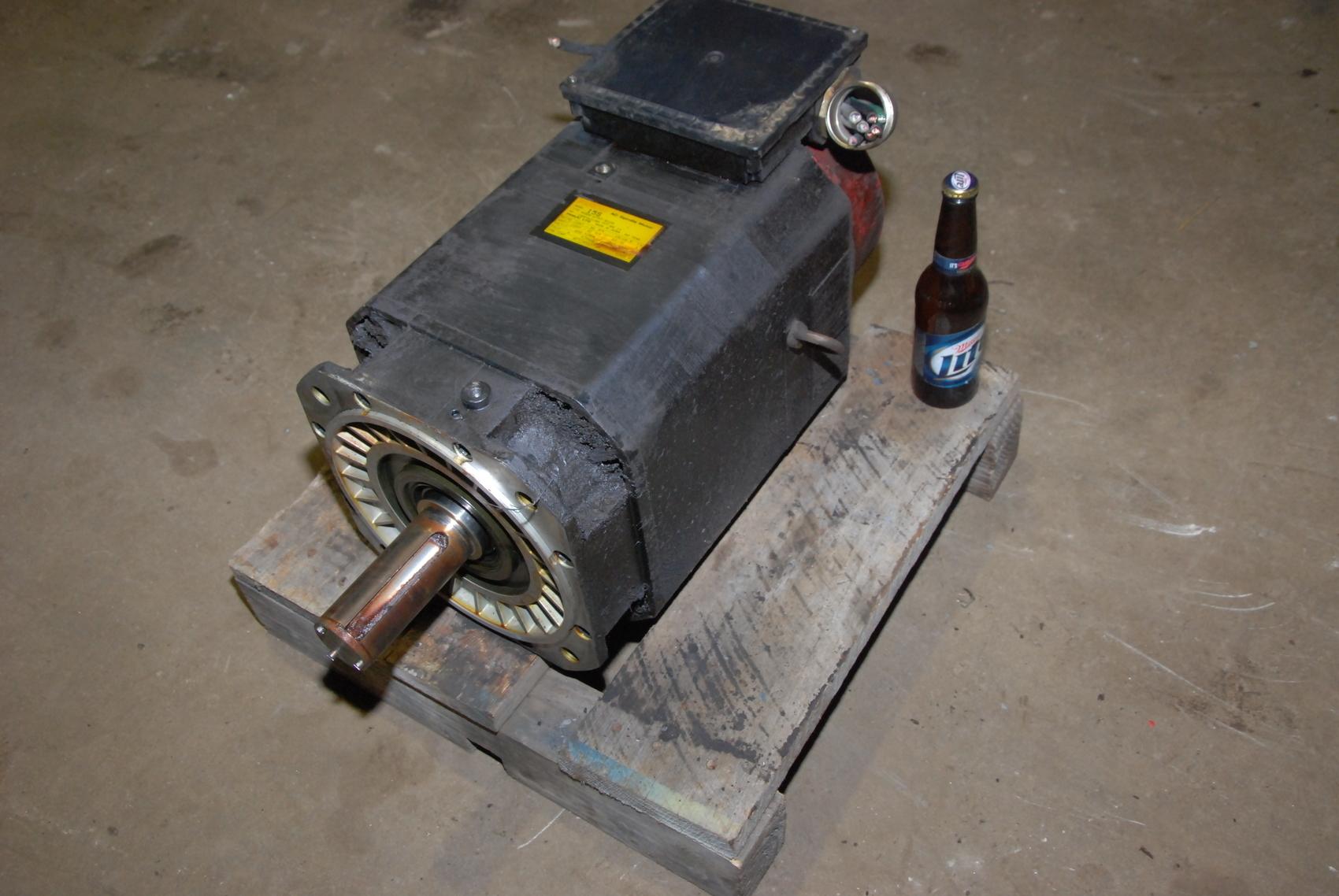 Fanuc 15S/A06B-0757-B100 AC Spindle Motor