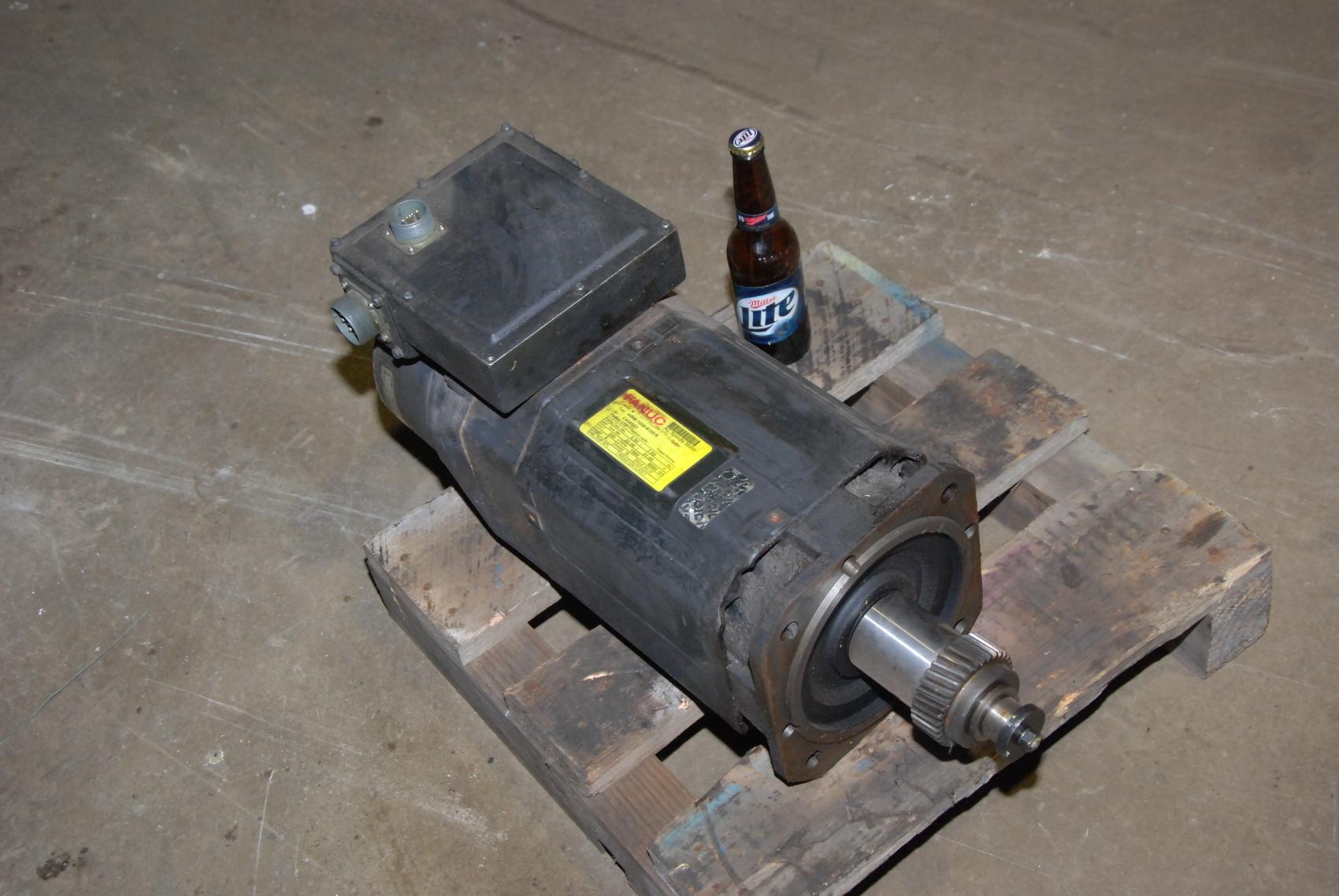 Fanuc A06B-1006-B100-R AC Spindle Motor Model 6