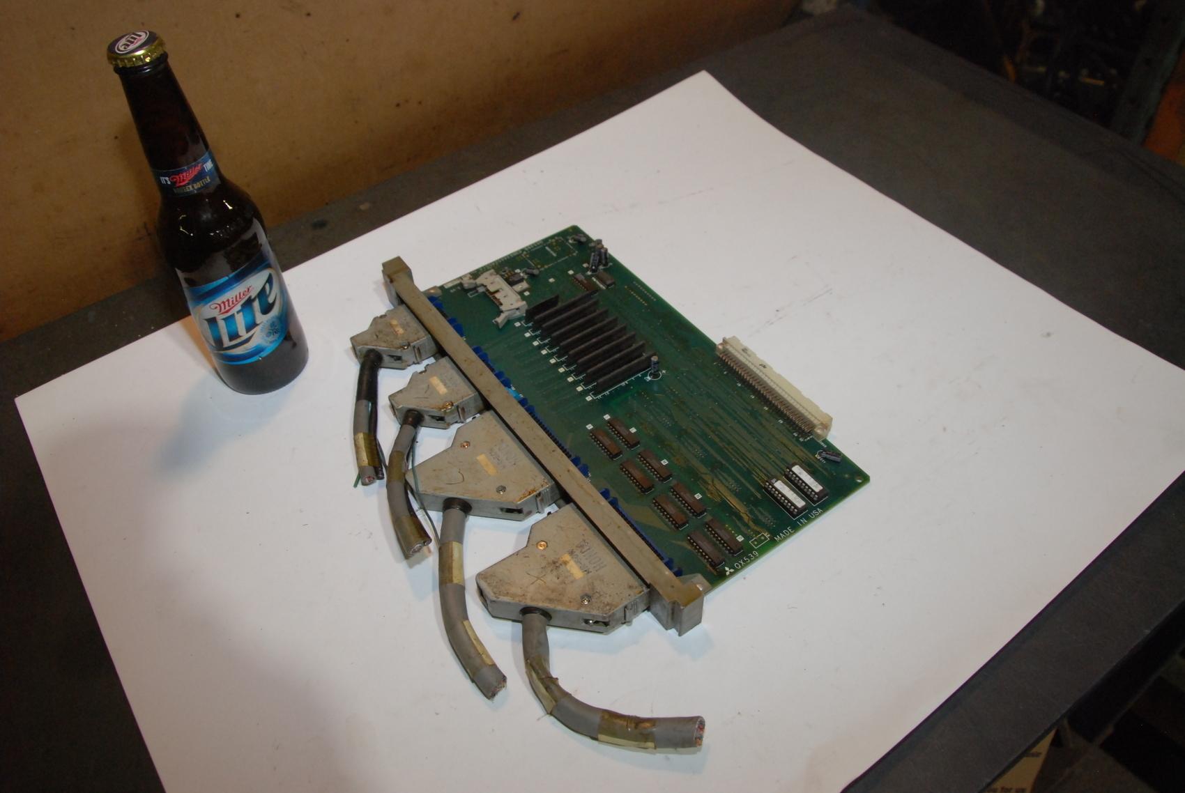 Mitsubishi QX539B C1N634A524GIA Circuit Board