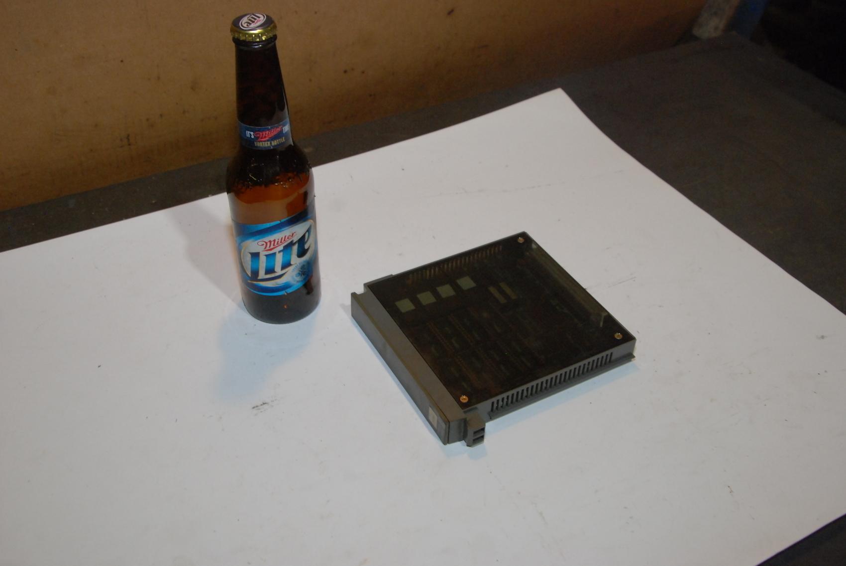 Mitsubishi MC411B-5/CIN624A801G51A rev B Memory Card