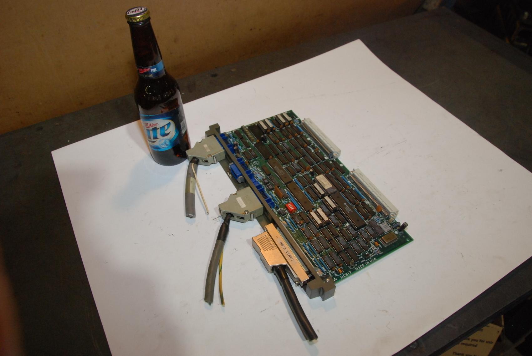 Mitsubishi MC617D CIN634A240G5IA Circuit Board