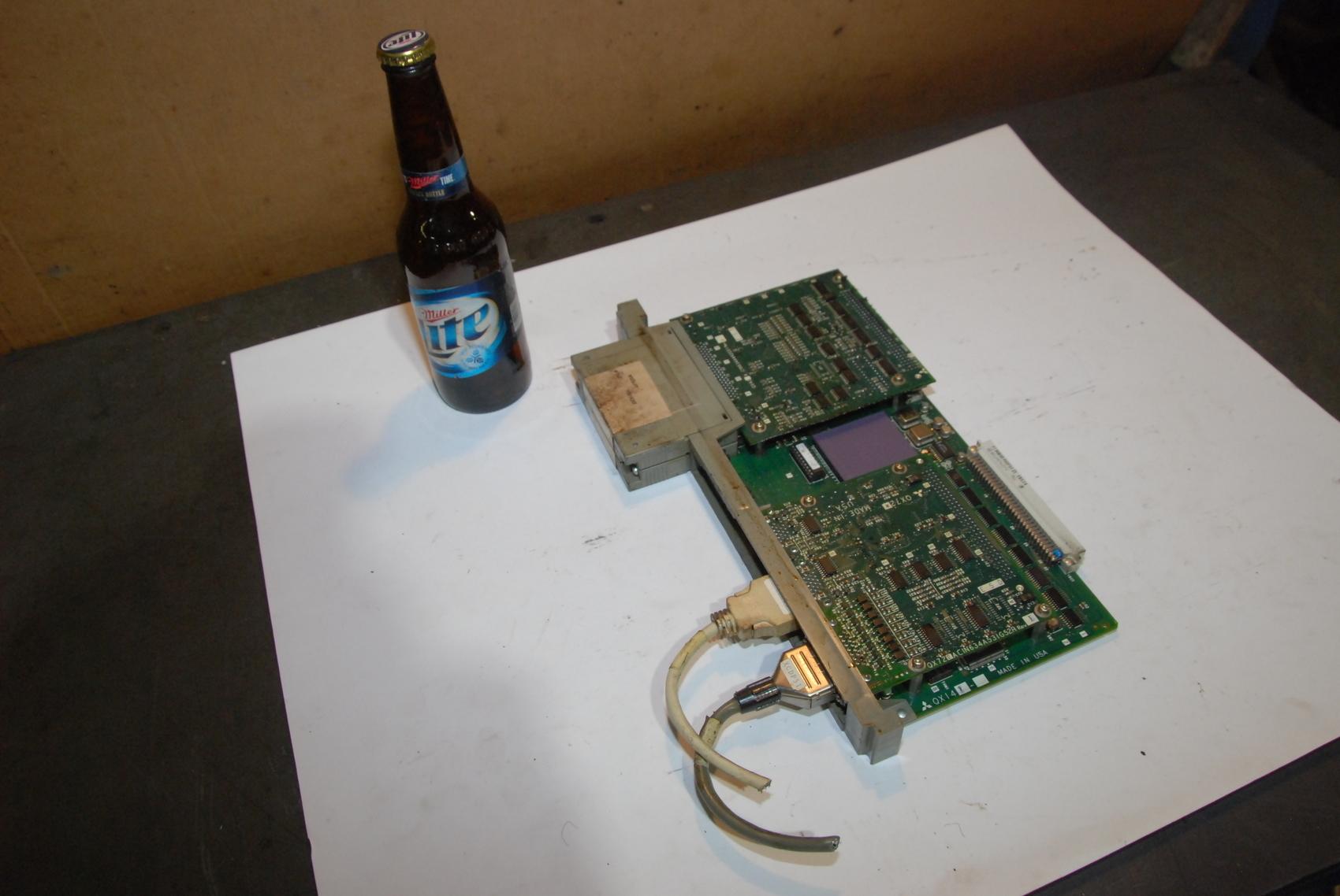 Mitsubishi 1 C-CIN634A617G51B Circuit Board qx42 qx72