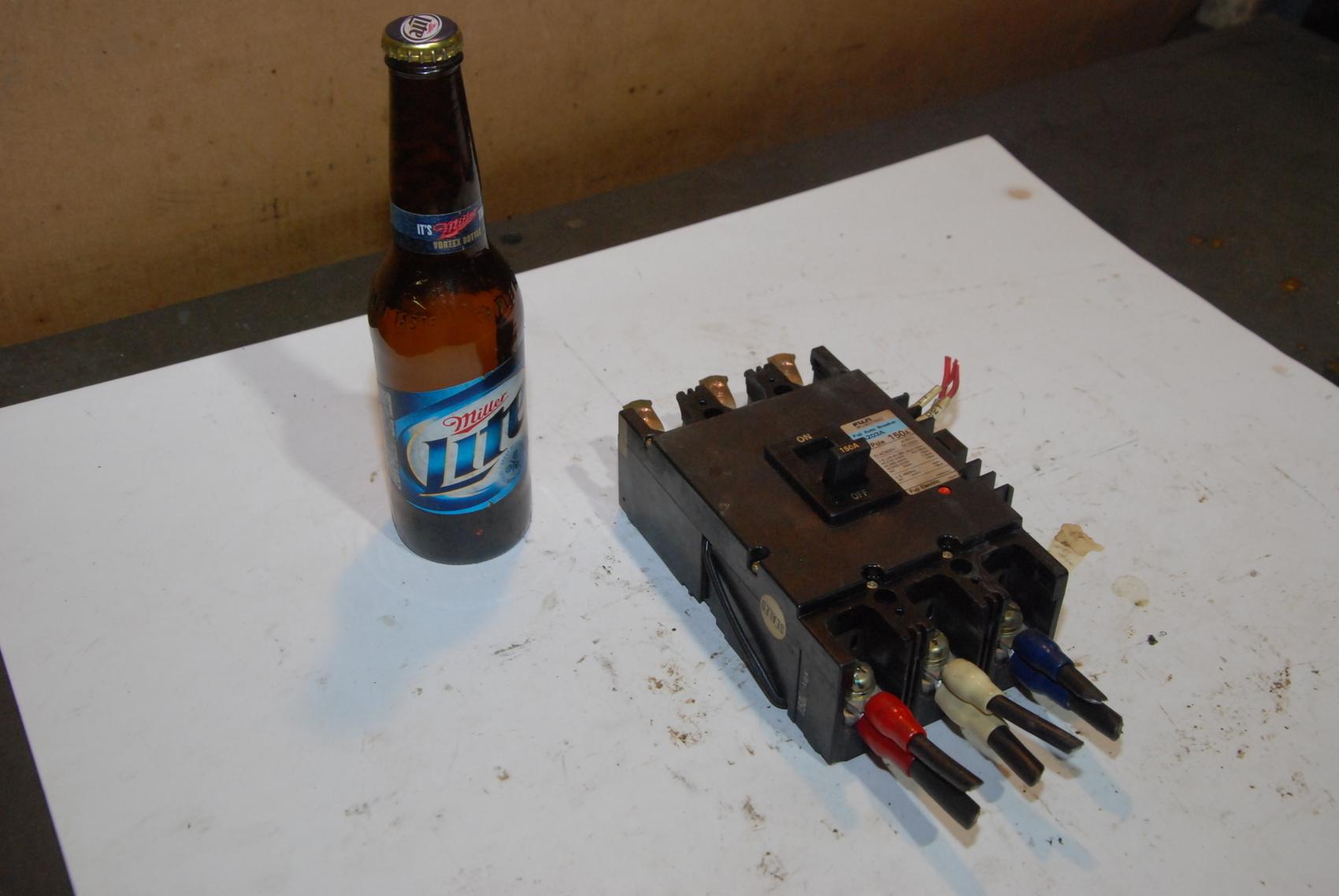 Fuji EA203A Auto Circuit BrEaker 3Pole 150A