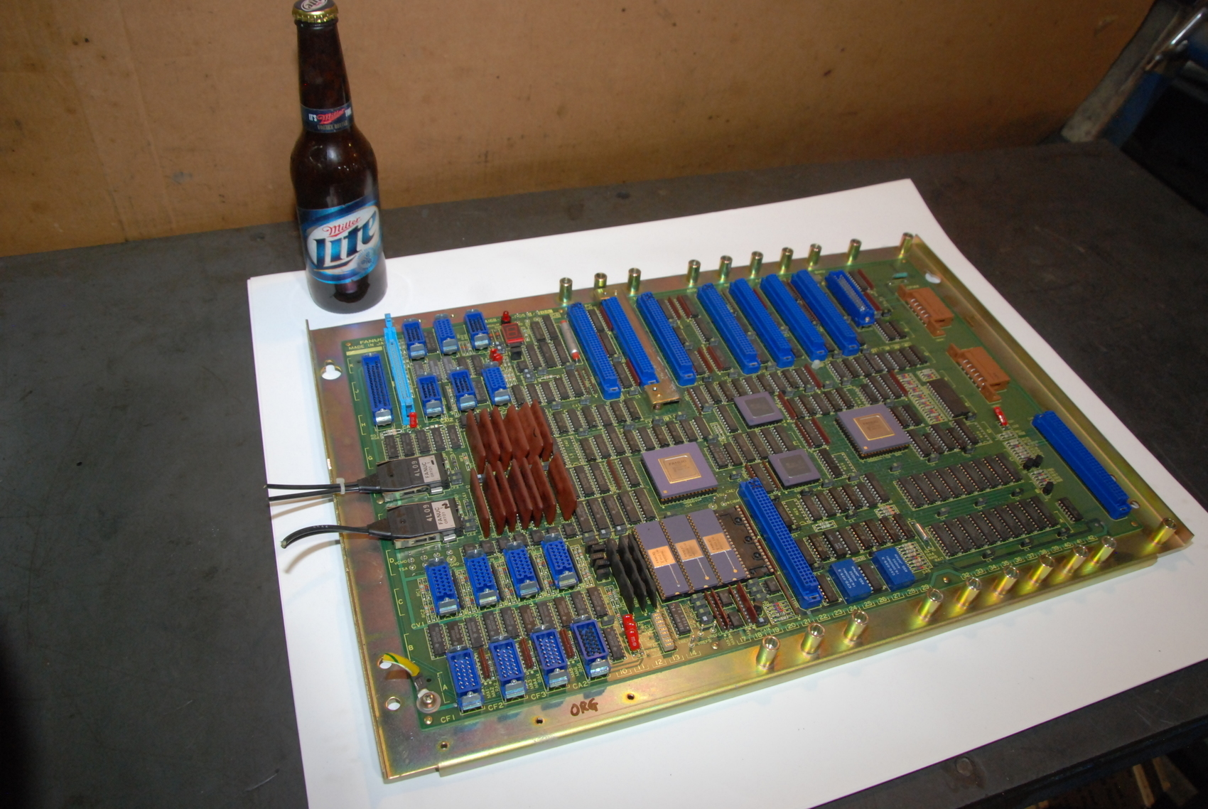 Fanuc A16B-1010-0050/10A MotherBoard Control Board