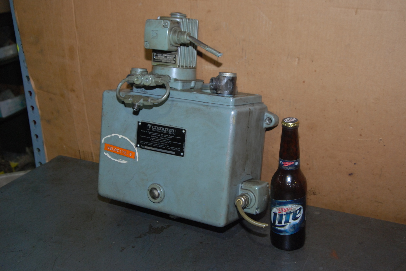 WILLY VOGEL CENTRAL LUBRICATION UNIT M205 B6
