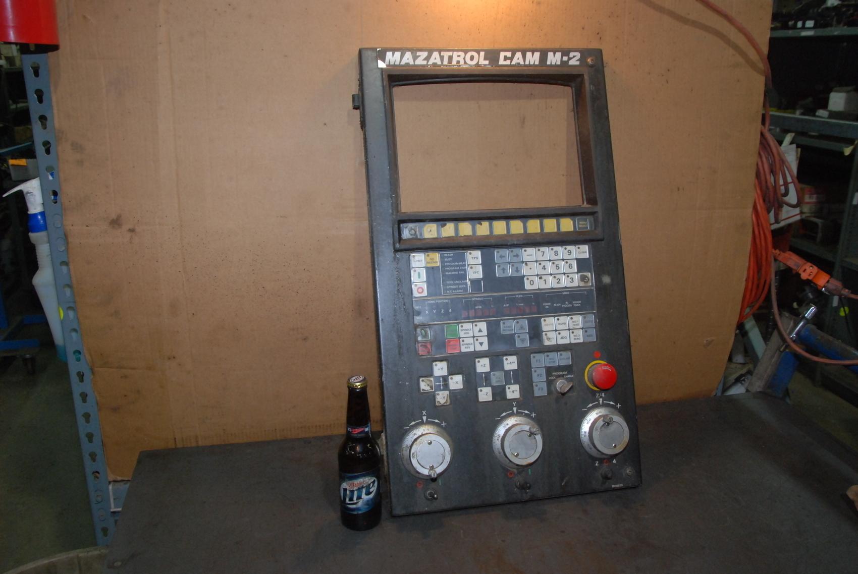 MAZATROL CAM M-2 CONTROL PANEL