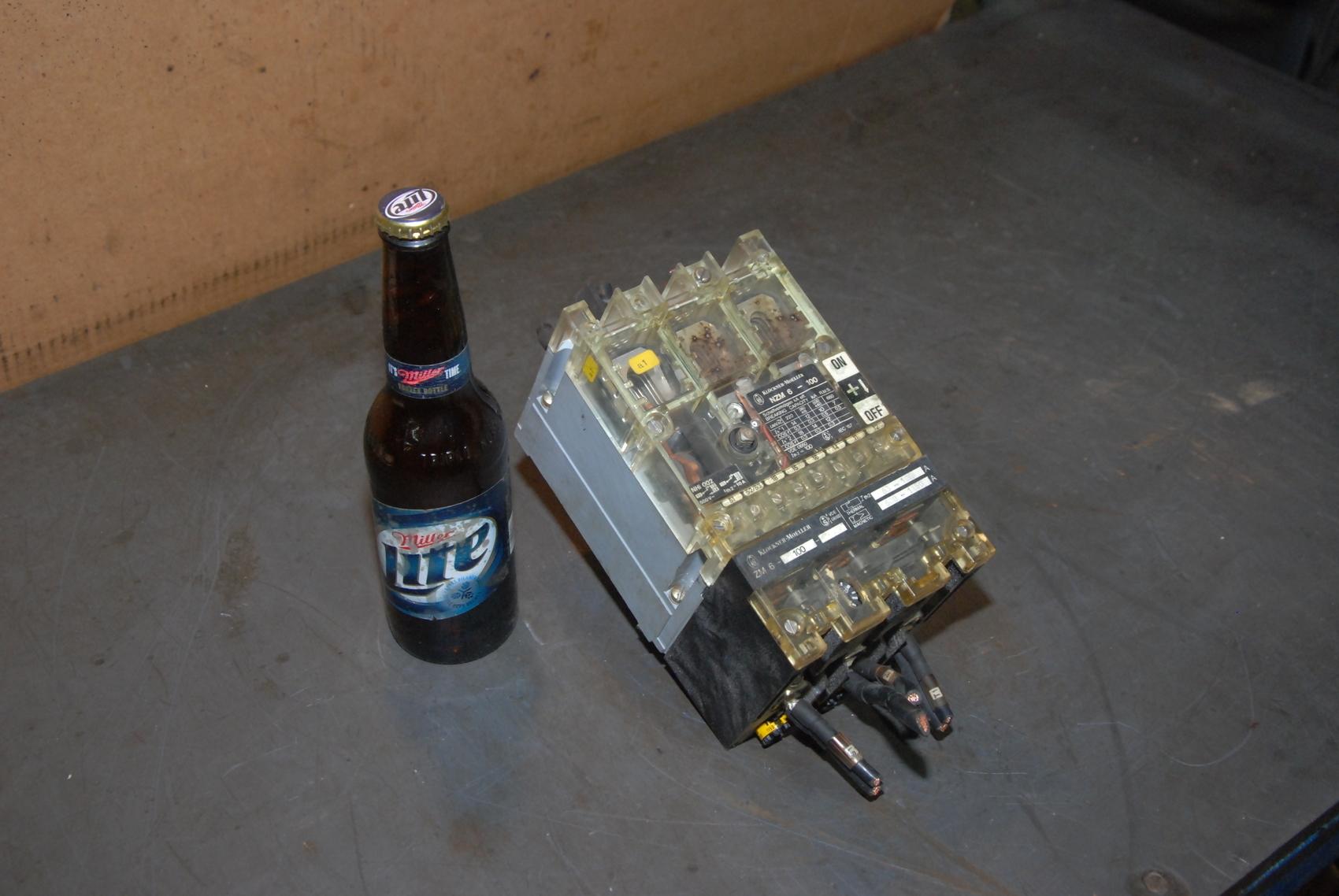 Klockner Moeller Circuit Breaker NZM6-100