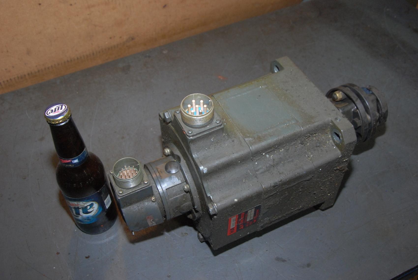 Mitsubishi Mazak HA 103 CS AC Servo Motor