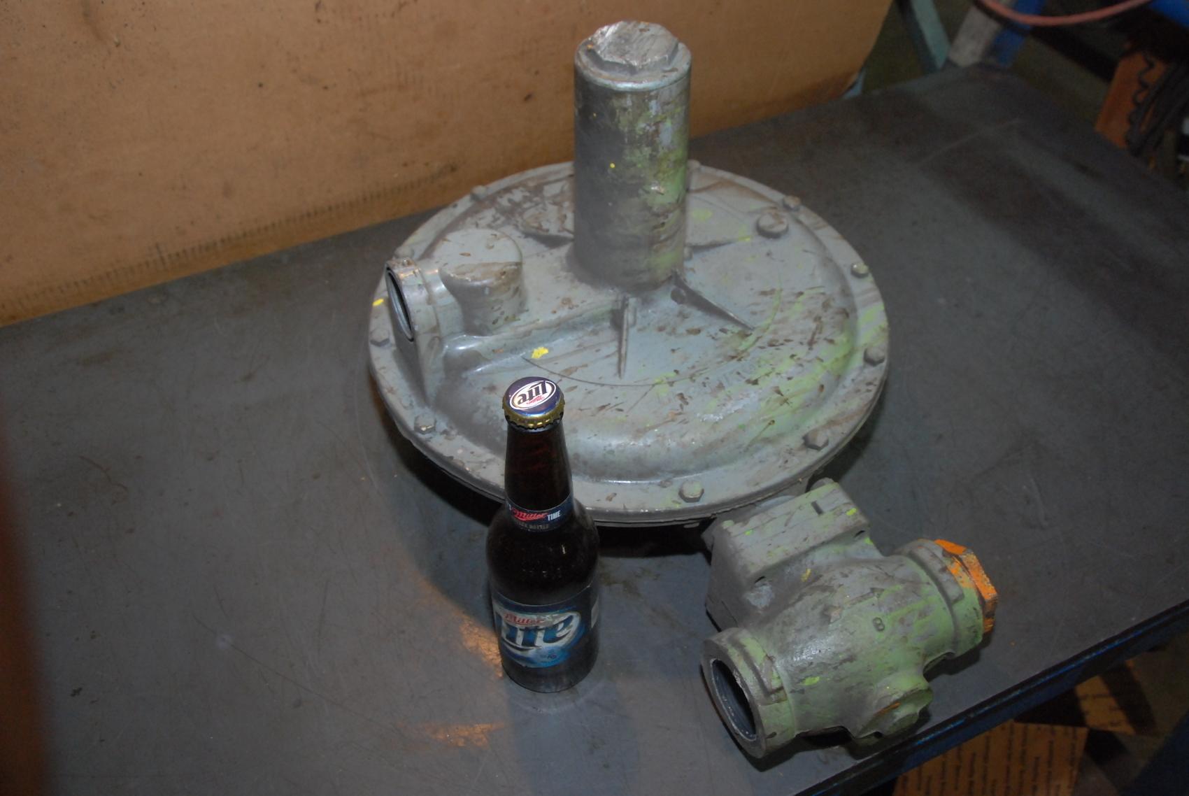 HUGE Equimeter Natural Gas Pressure Regulator Type IRV sprg 6-14