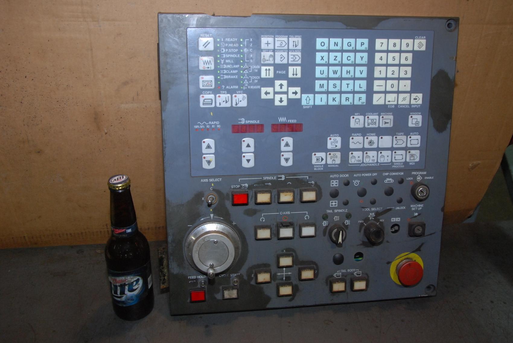 Mitsubishi Mazak qy901 board keyboard