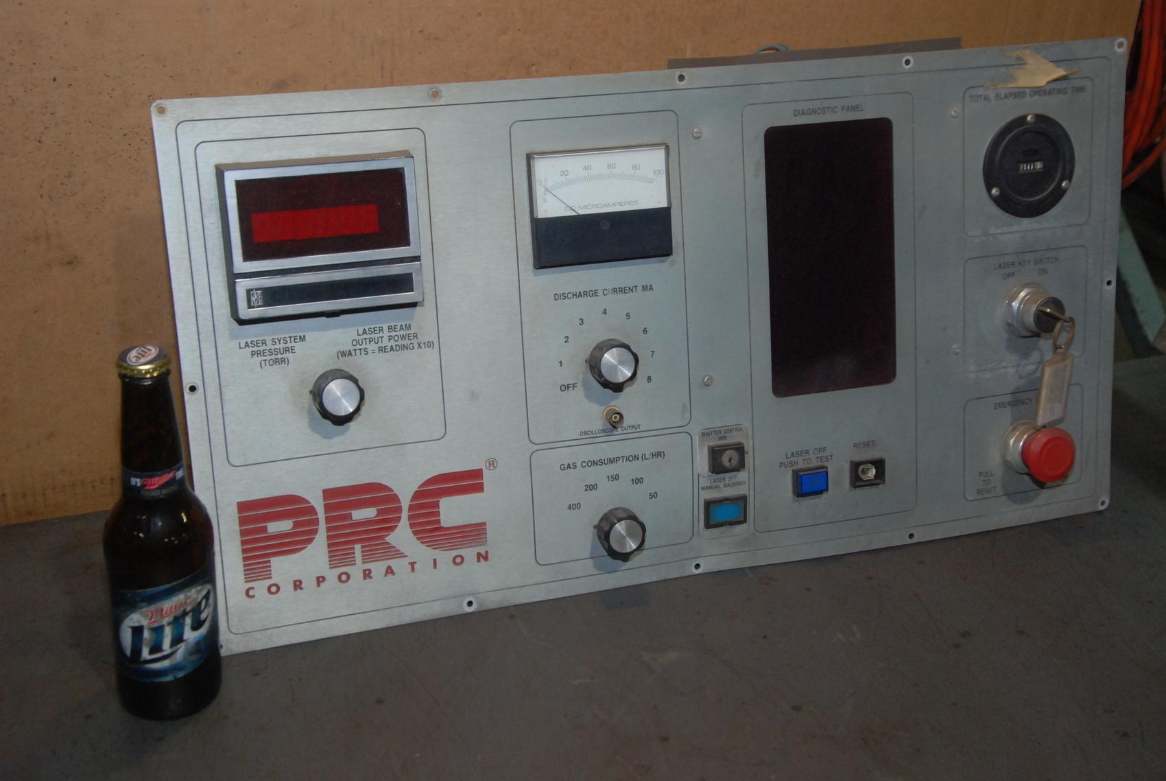 Amada Lasmac 667 PRC laser control panel