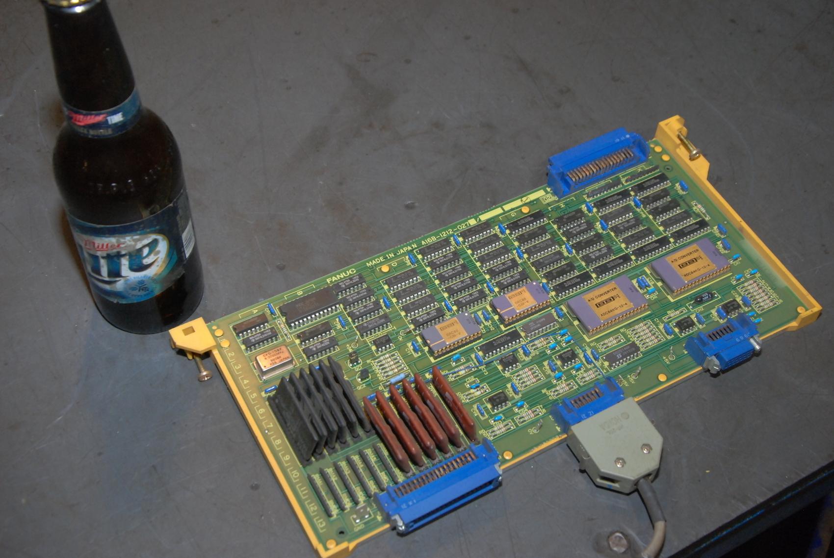 Fanuc A16B-1212-027 board