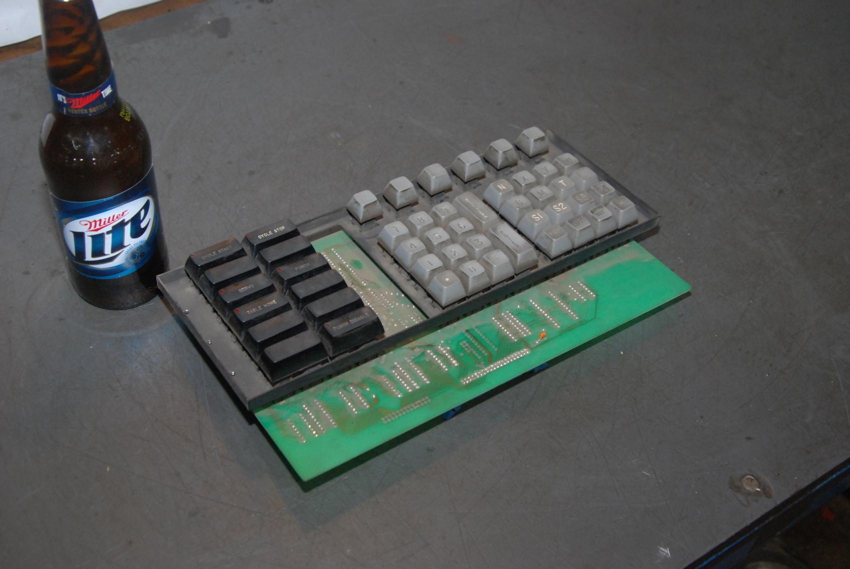 Keyboard A98-000106 REV.1,Northern Control Sistems