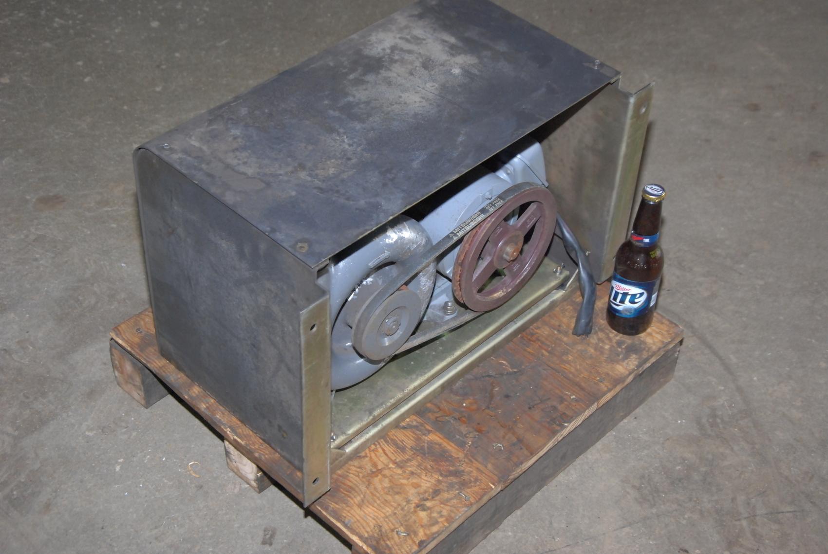 Amada Lasmac 667 PRC laser blower vacum pump