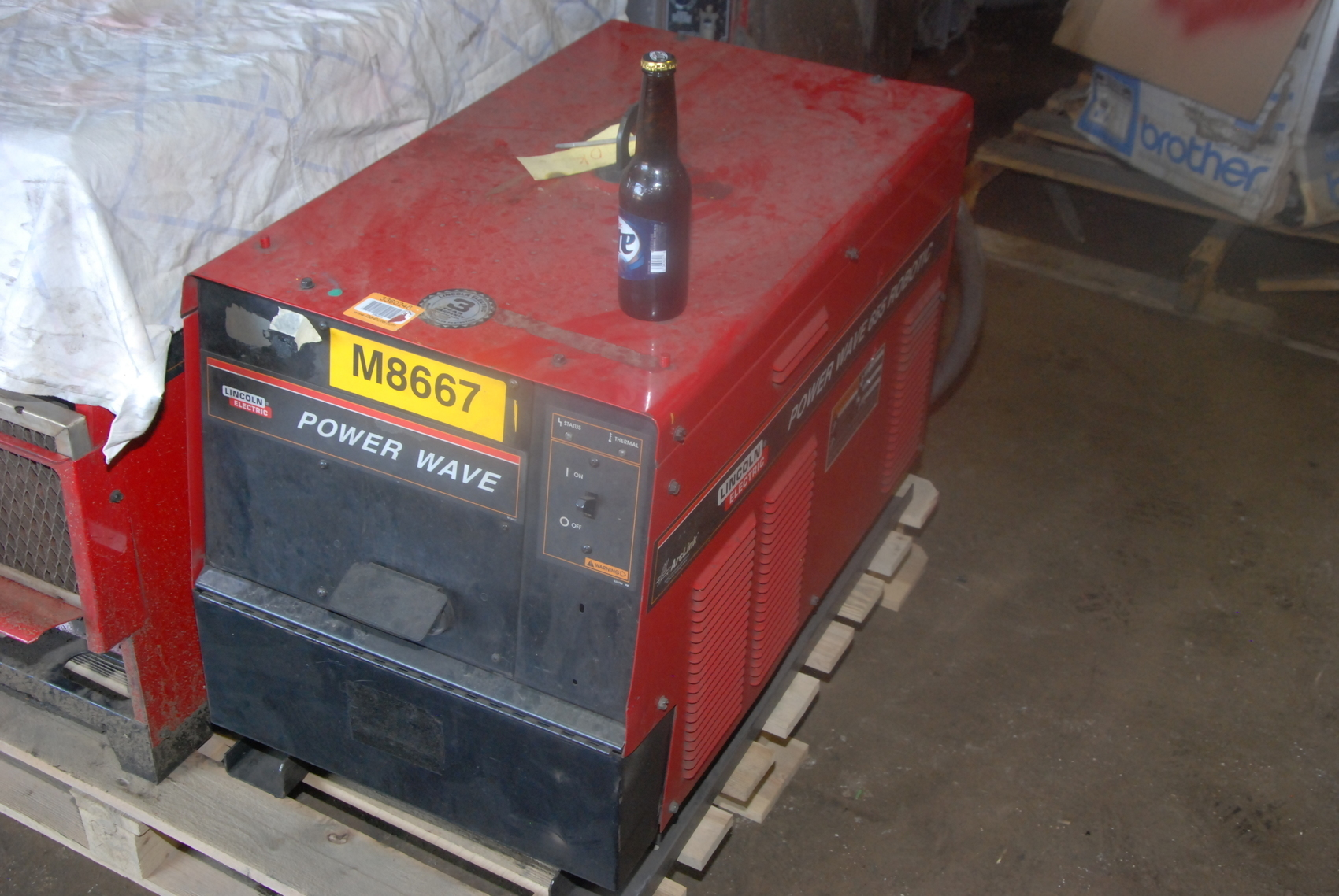 Lincoln electric Power Wave 655 welder