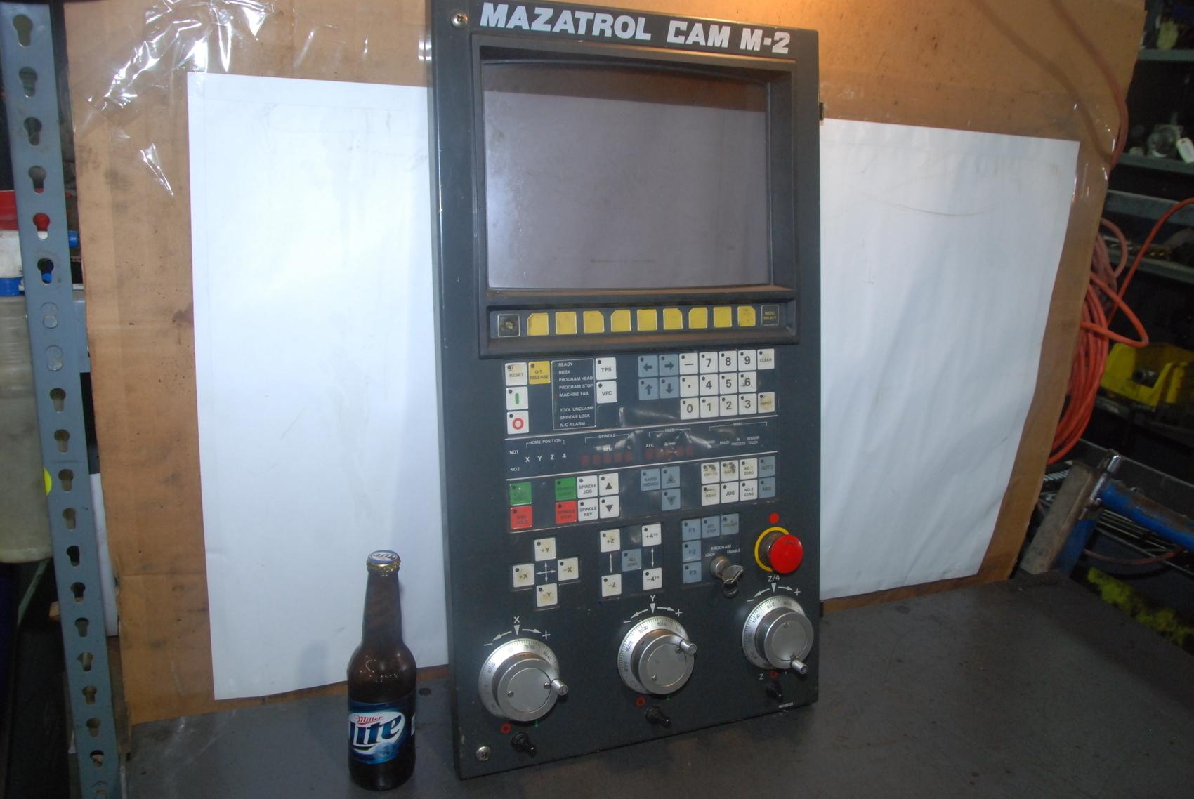 mazatrol cam m2 tv cnc monitor control pendant