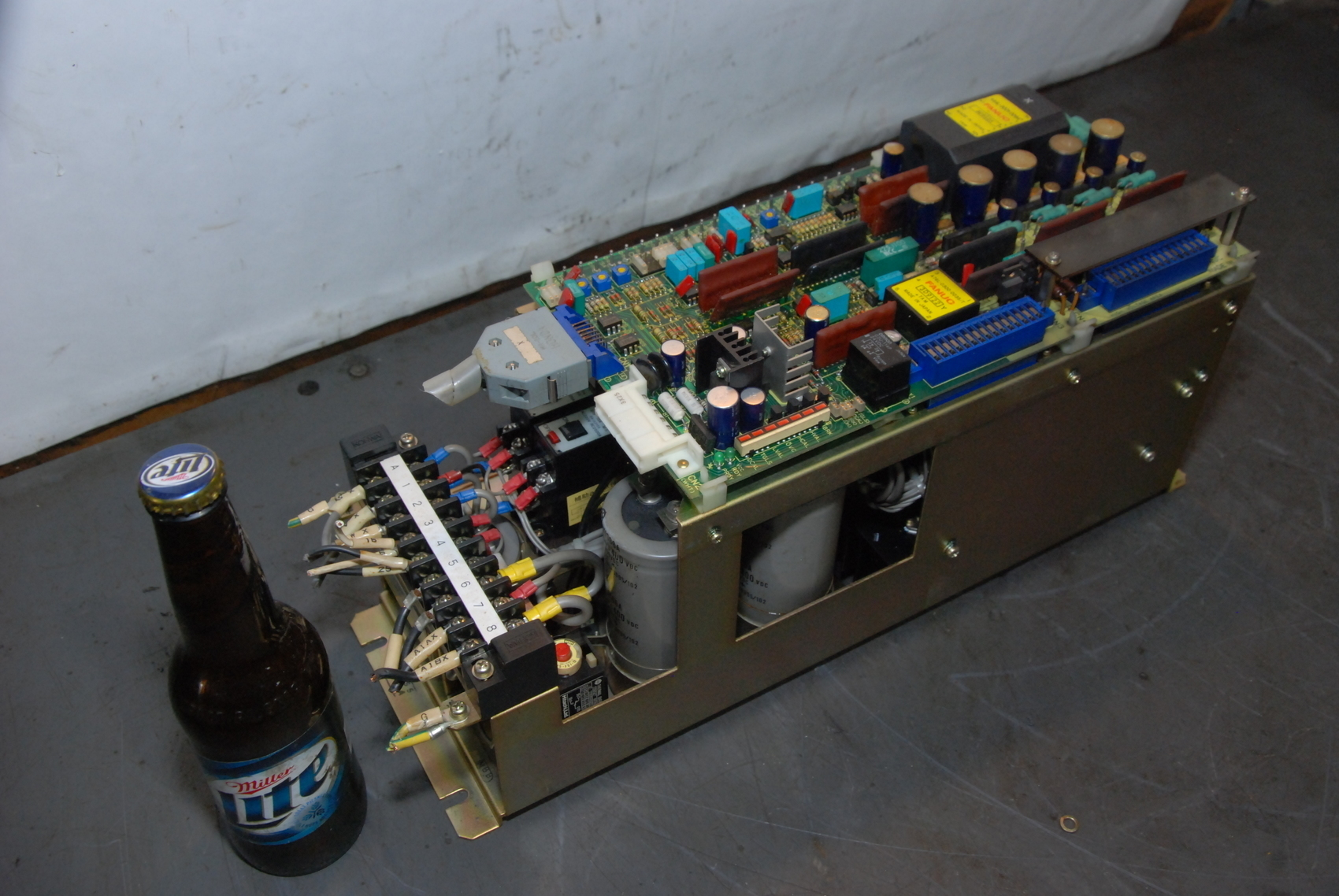 WORKS GREAT!VIDEO!FANUC VELOCITY CONTROL UNIT A06B-6047-H003