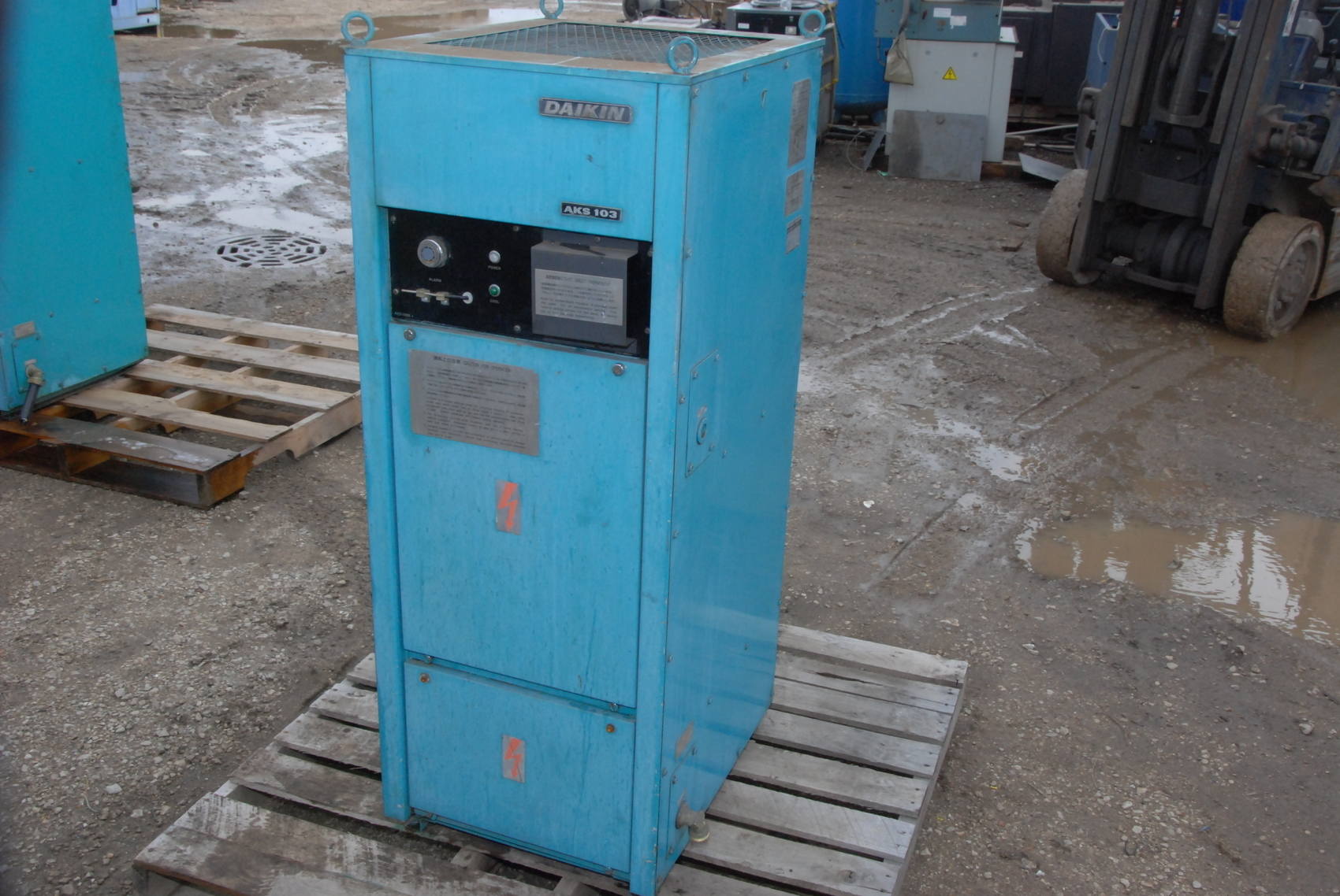 Daikin Oilcon AKS103KE Spindle oil cooler chiller for Mazak CNC