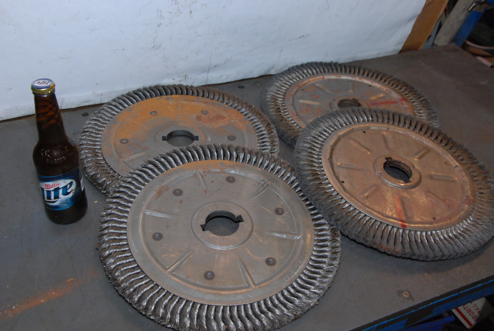 """Brush Research Manufacturing 14""""Wire Wheel 2"""""""