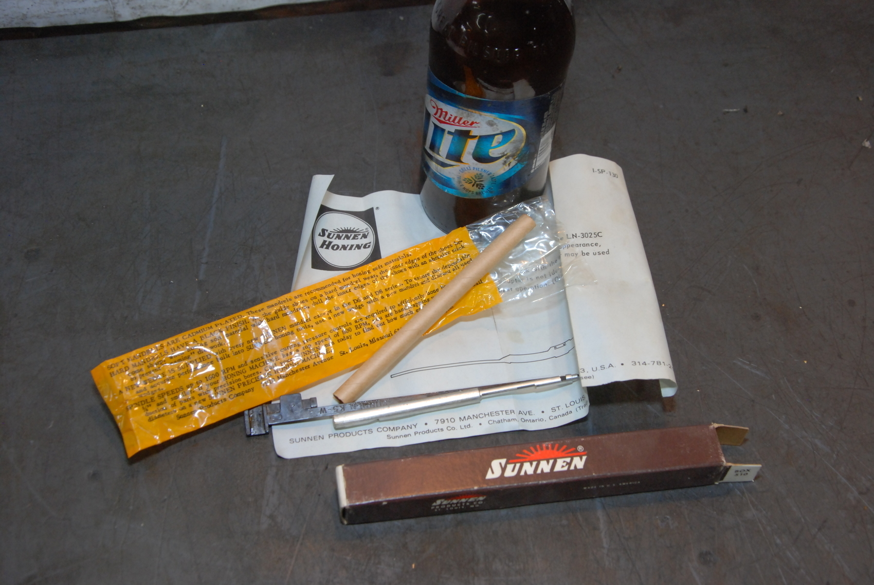 NEW,Sunnen Mandrel K5 165CS**Made in USA