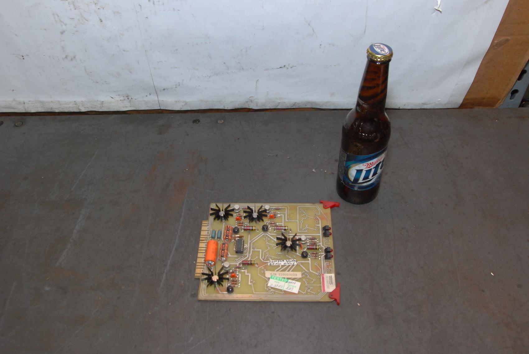 Ajax Tocco D81721 PC Board 023060182