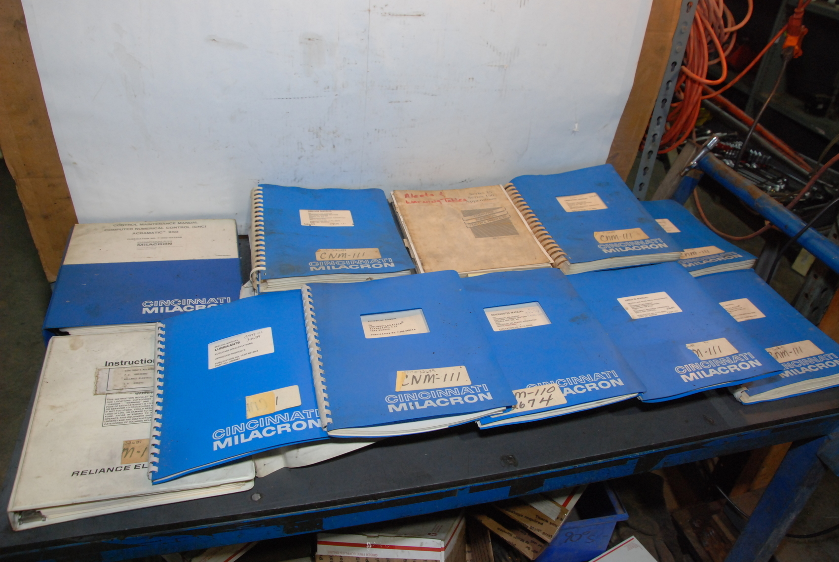 Cincinnati Milacron CNC Lathe CNM-111 Manuals,Instructions