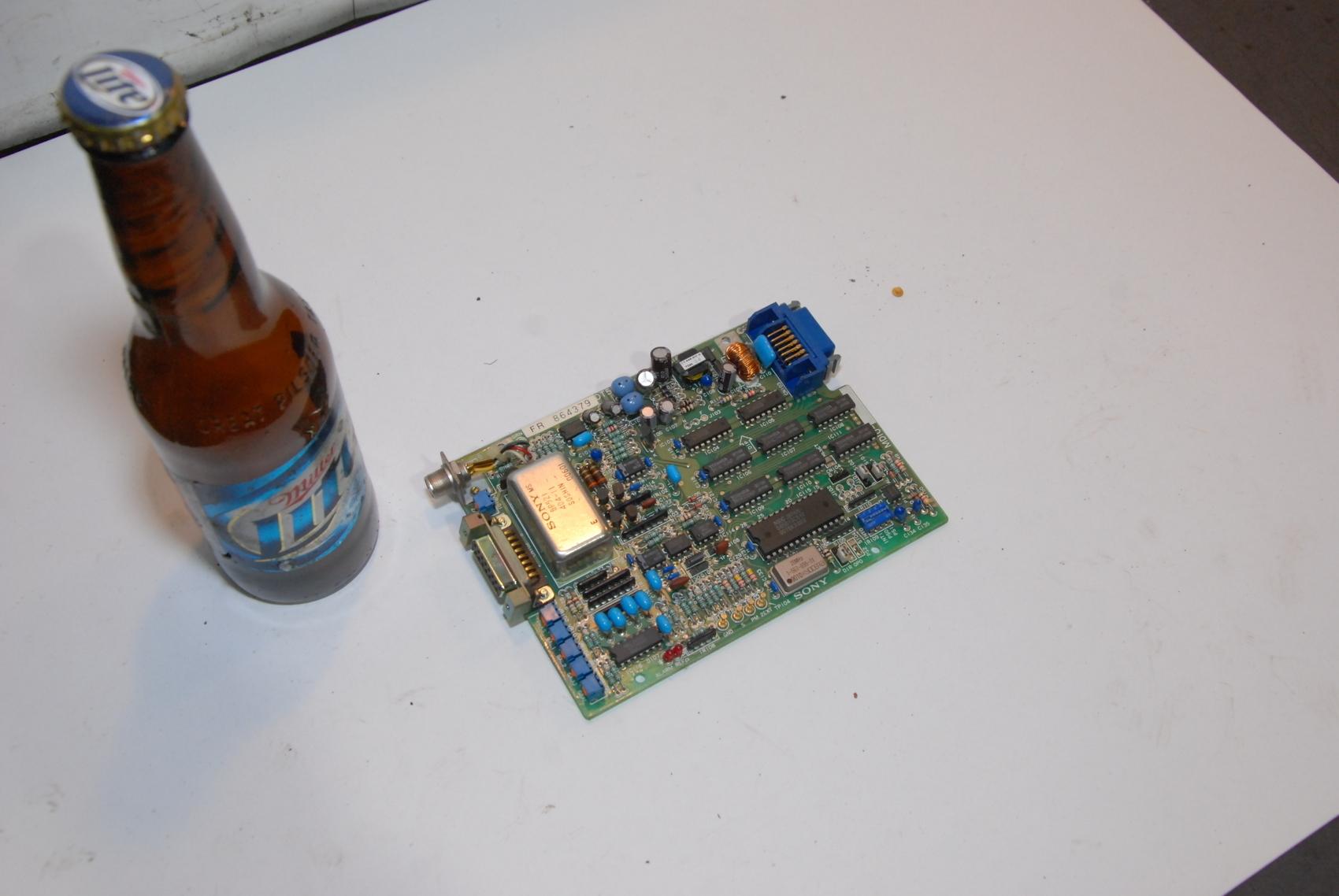 SONY CNC CIRCUIT BOARD MD10 MDIO DT5-PCB FR 864379