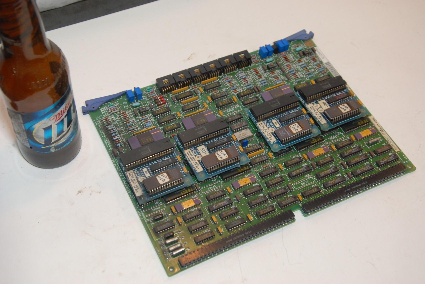 GE AXIS BOARD 44A719259-001 R02/2 AXS02A AXS02B 44A719323-105 R02