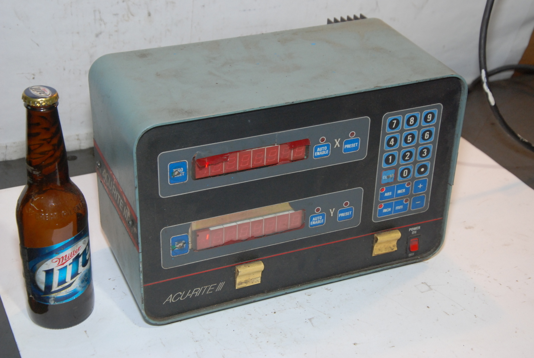 FOR PARTS Acu-Rite III 387-5974000 Digital Readout System Display