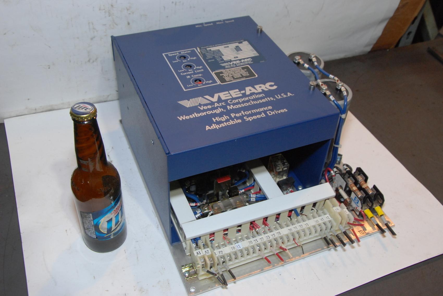 VEE-ARC R IV B-3 Hp Adjustable-Speed Motor Controller drive vfd