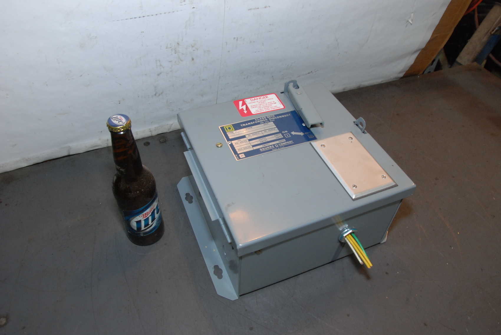 Square D SK5271R Transformer Disconnect 230/460V Sec 115V