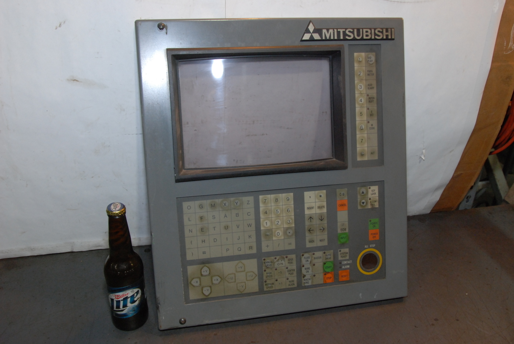 MITSUBISHI WB116A Operation Board For DWC110/DWC90 Discharge Mill