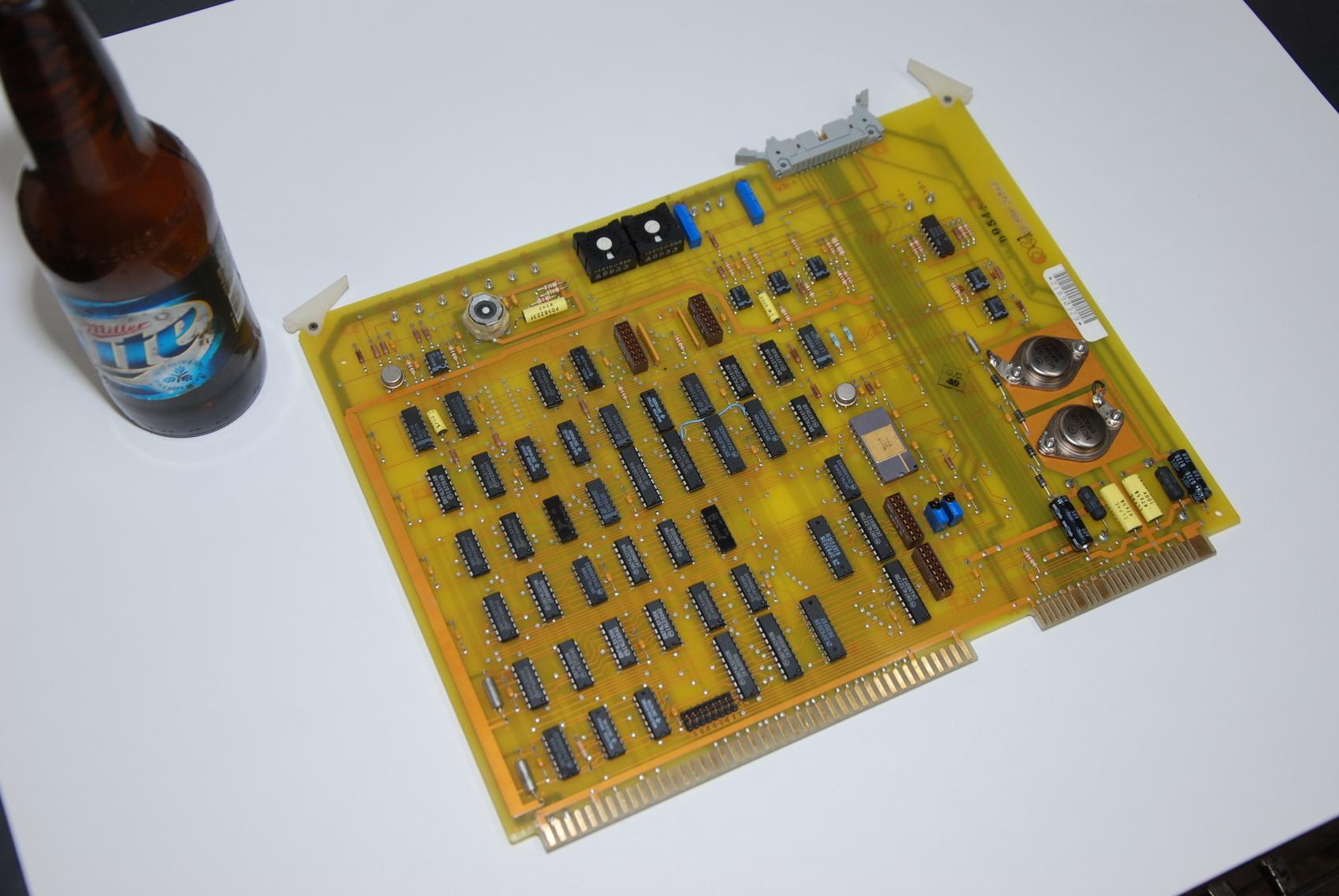 CINCINNATI MILACRON 3 531 3654A ACRAMATIC PCB BOARD