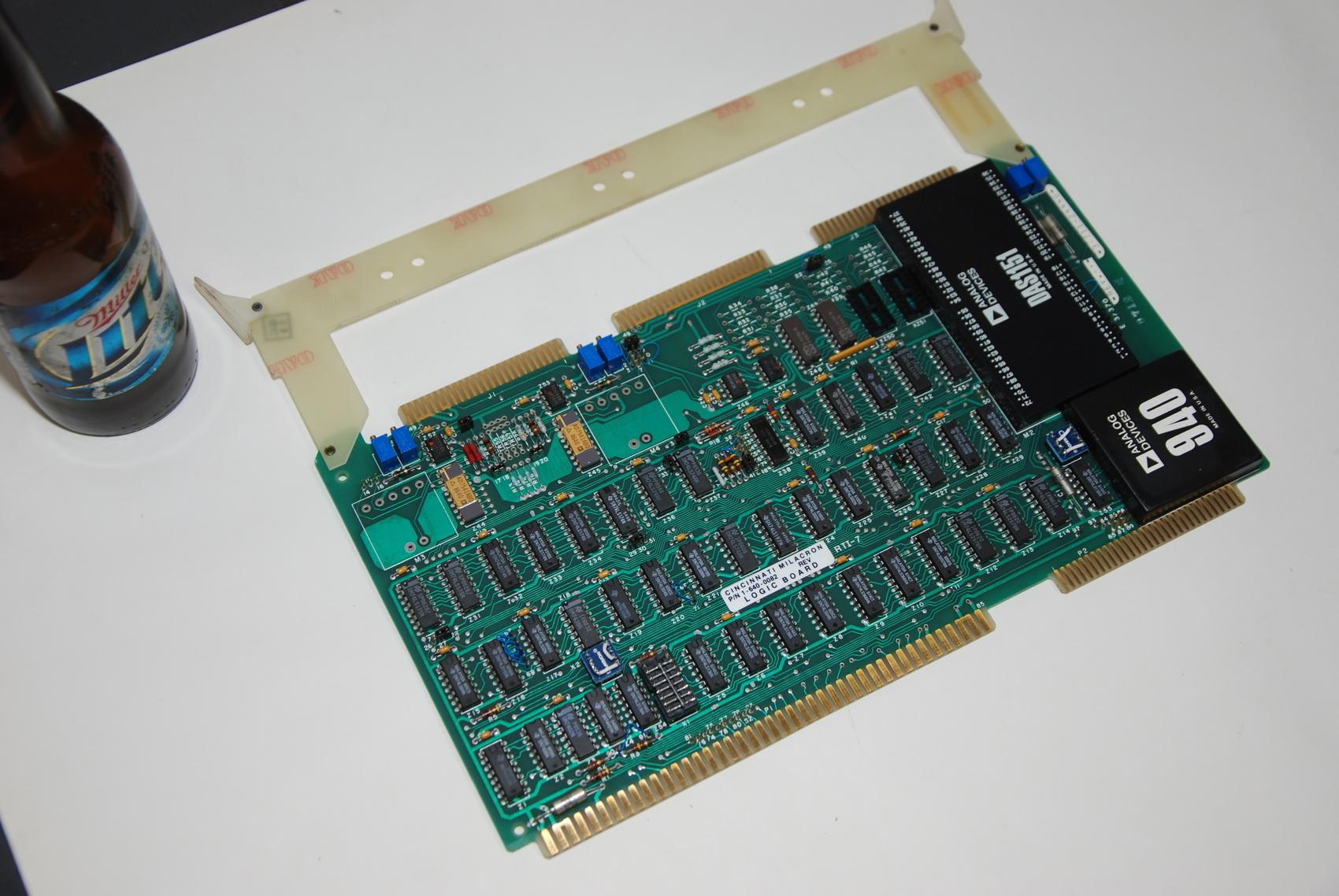 Cincinnati Acramatic Siemens Control Board 3-711-2444G Logic Board