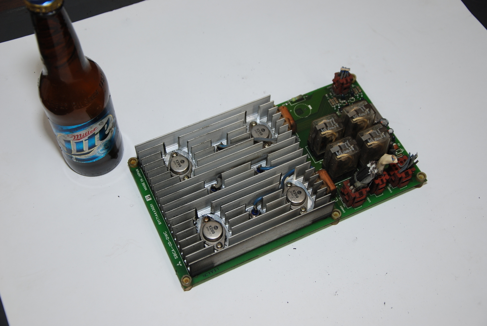 Mitsubishi PC Board,SBCA-02-DWC,BY171A443G51B