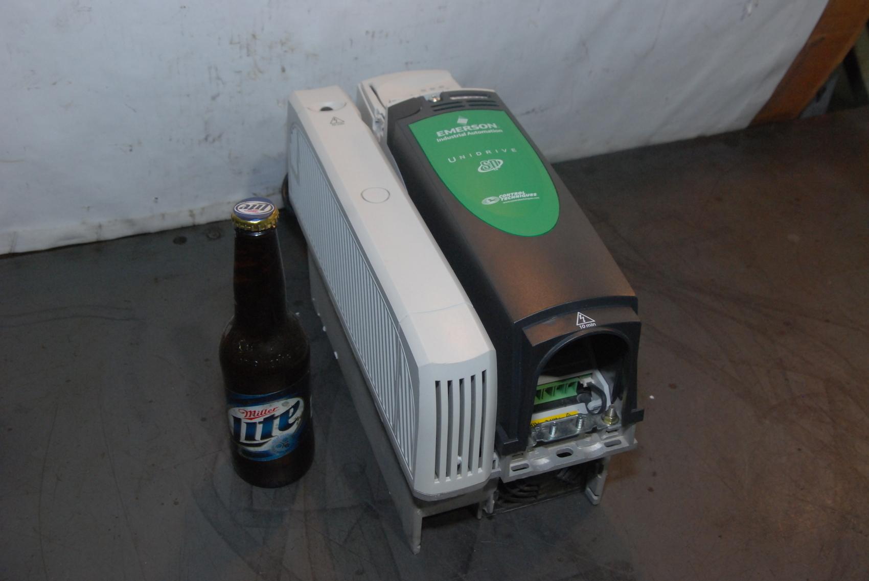 Emerson SP2203 Unidrive Control Techniques 10 HP VFD AC Drive