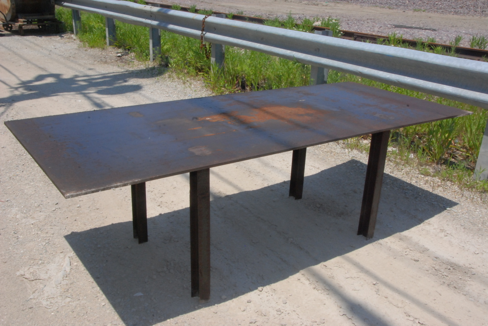 """Welding table 96 1/2*40*30,3/8""""thick"""