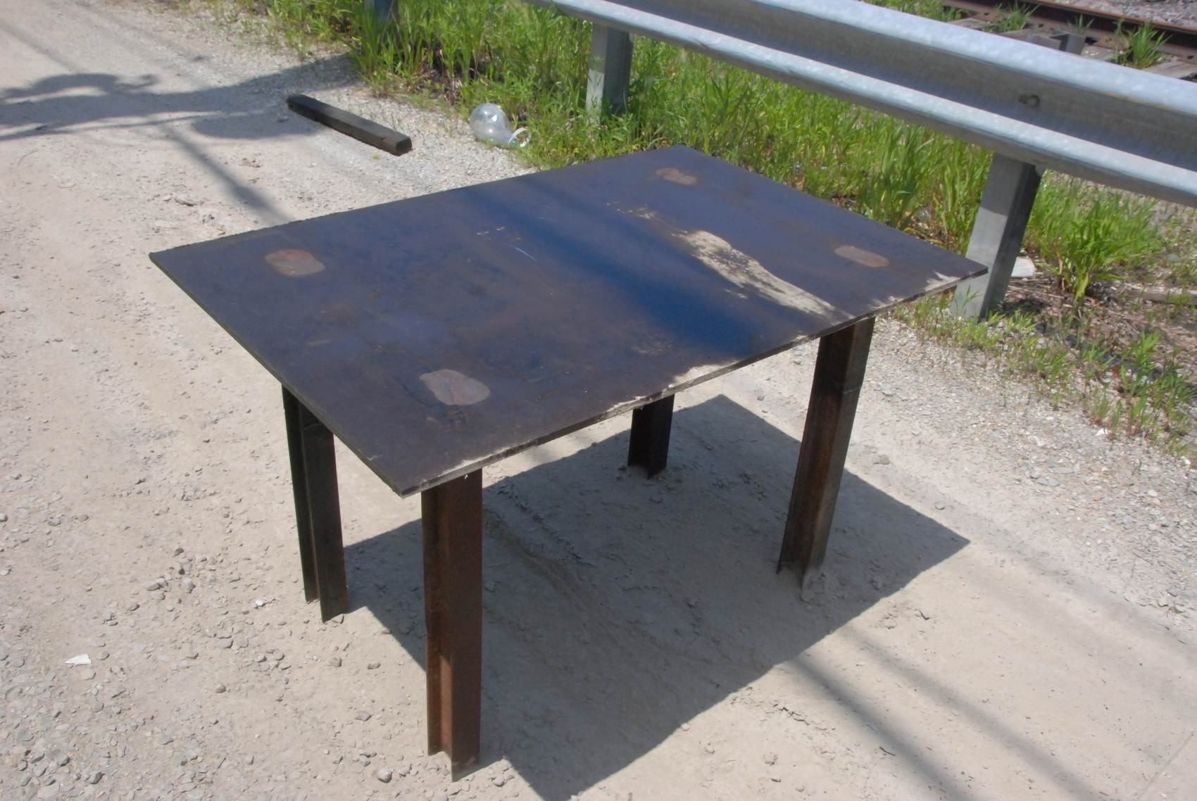 """Welding table 50*33 1/2*30,3/8""""thick"""