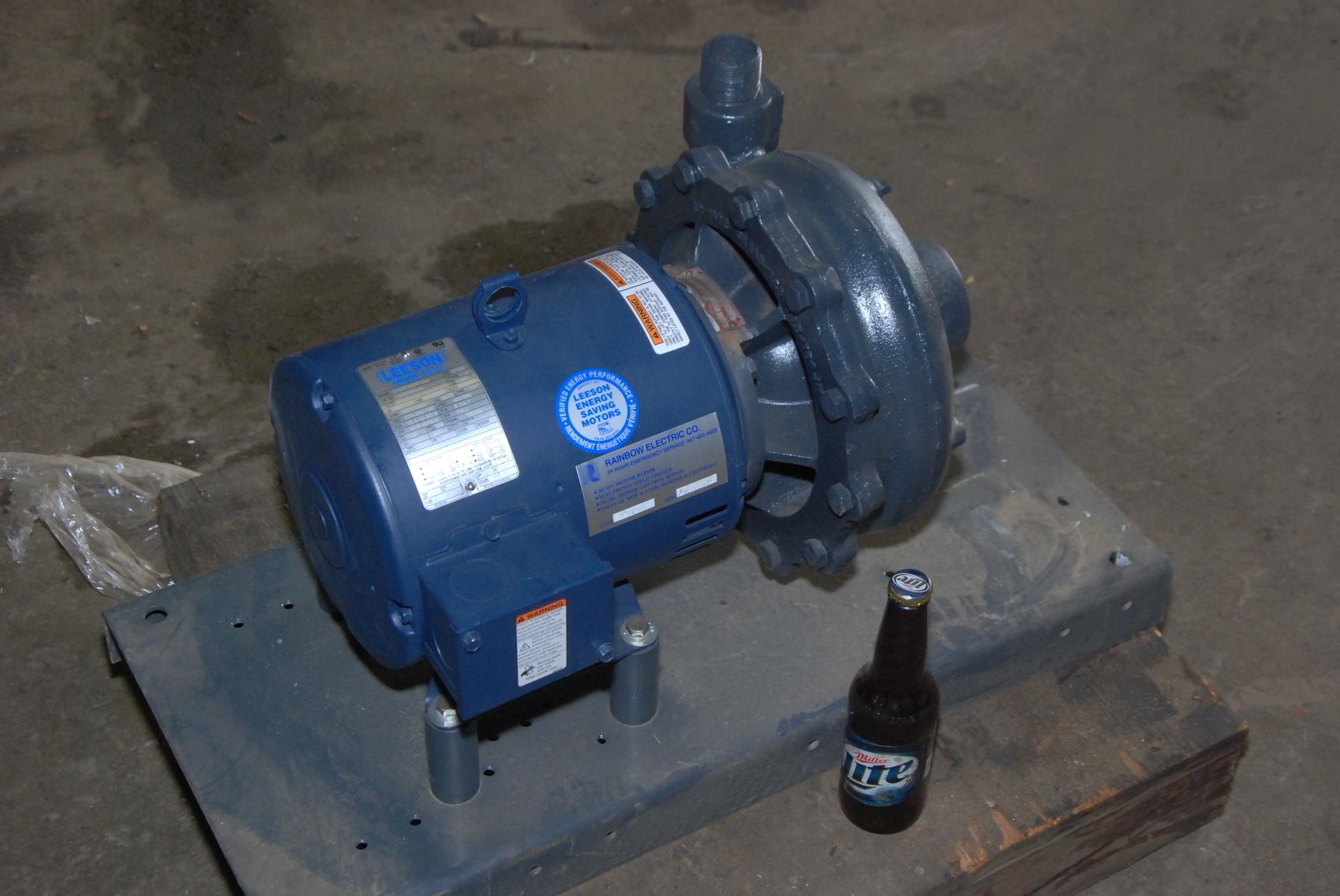 New DUNHAM-BUSH 5/3 HP 1 1/4 NPT A9D51-2A water PUMP 3 phase