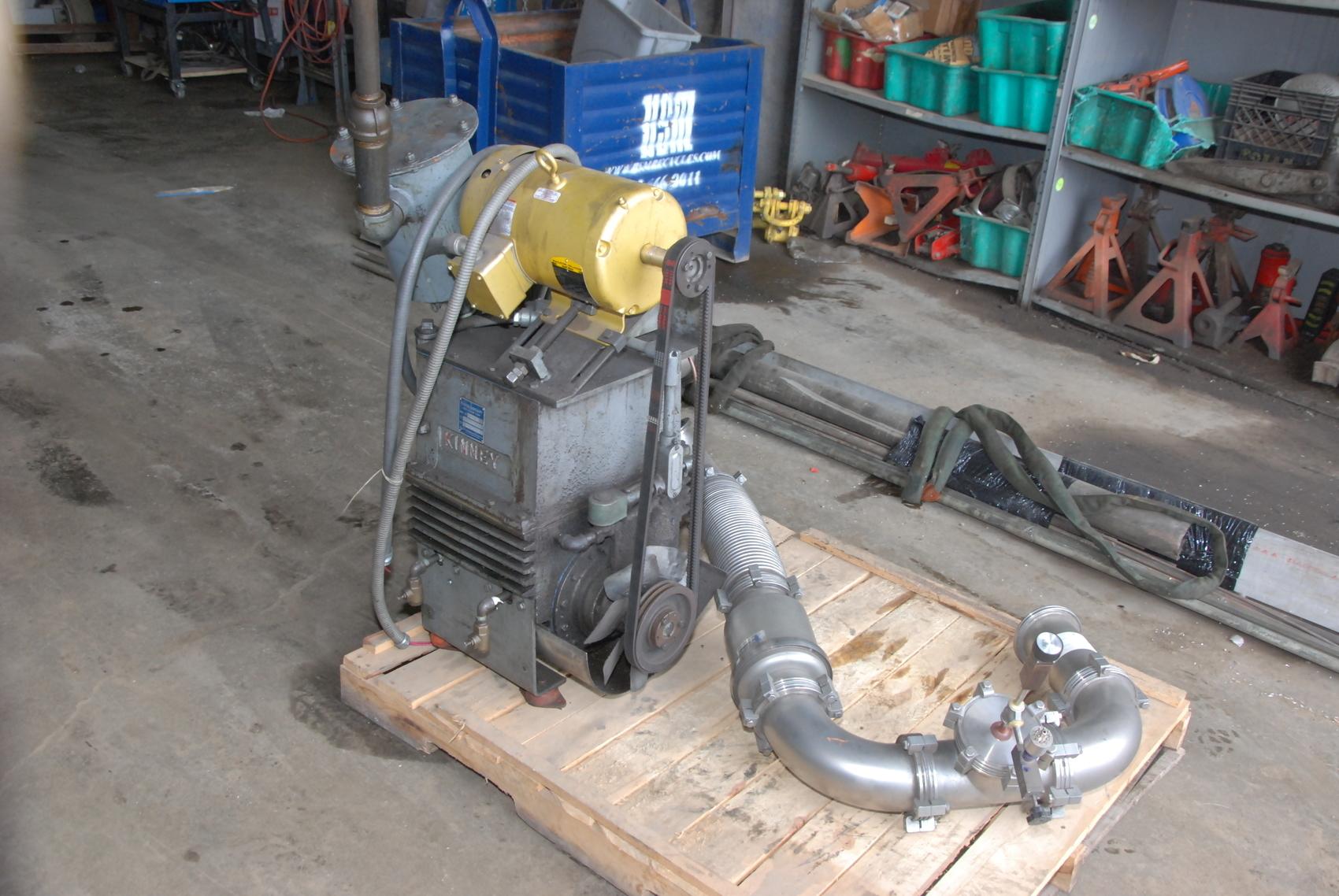Tuthill Kinney KTC-60 Piston Vacuum Pump 230/460V,3PH