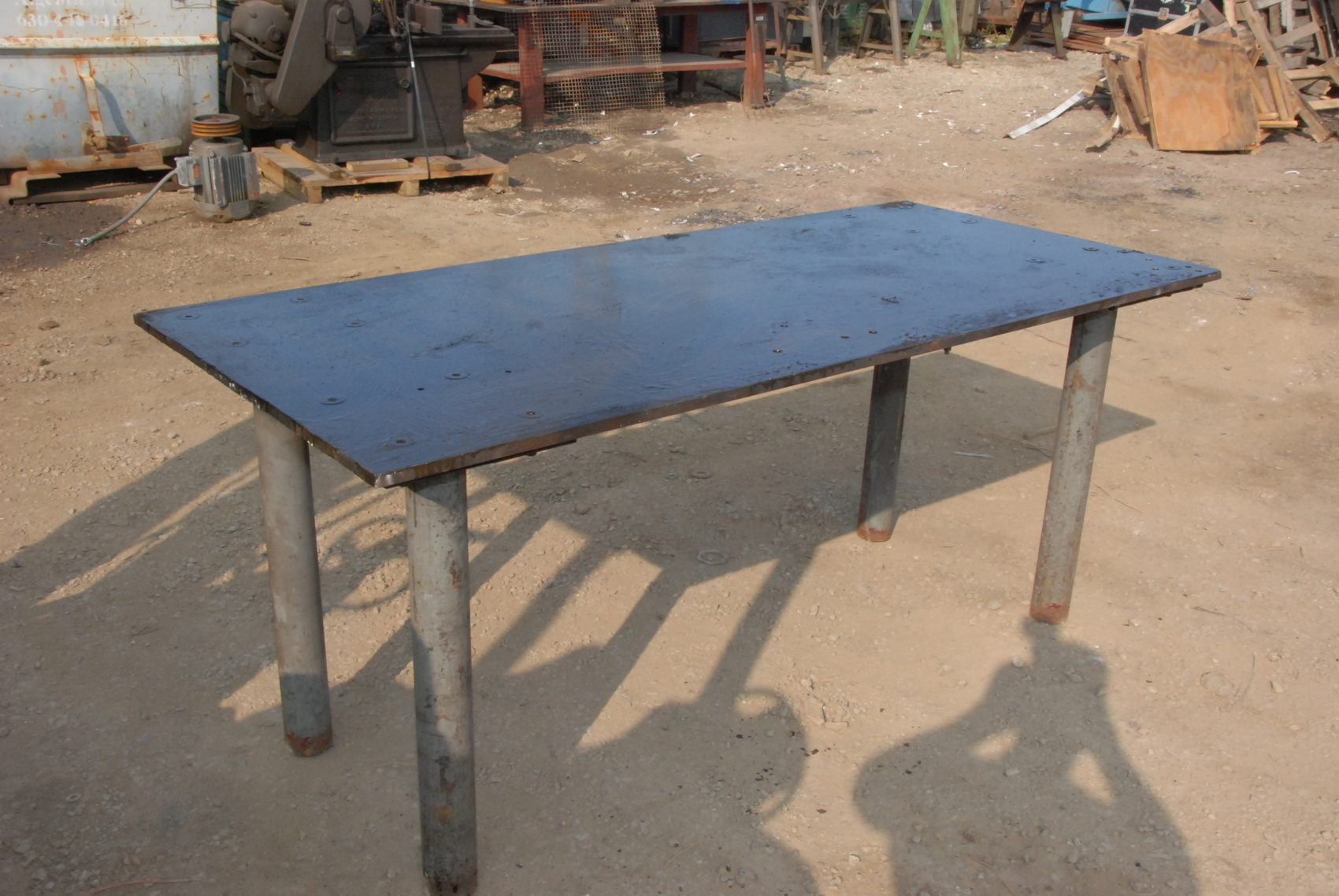 """Welding table 78*36*34,3/4""""thick"""