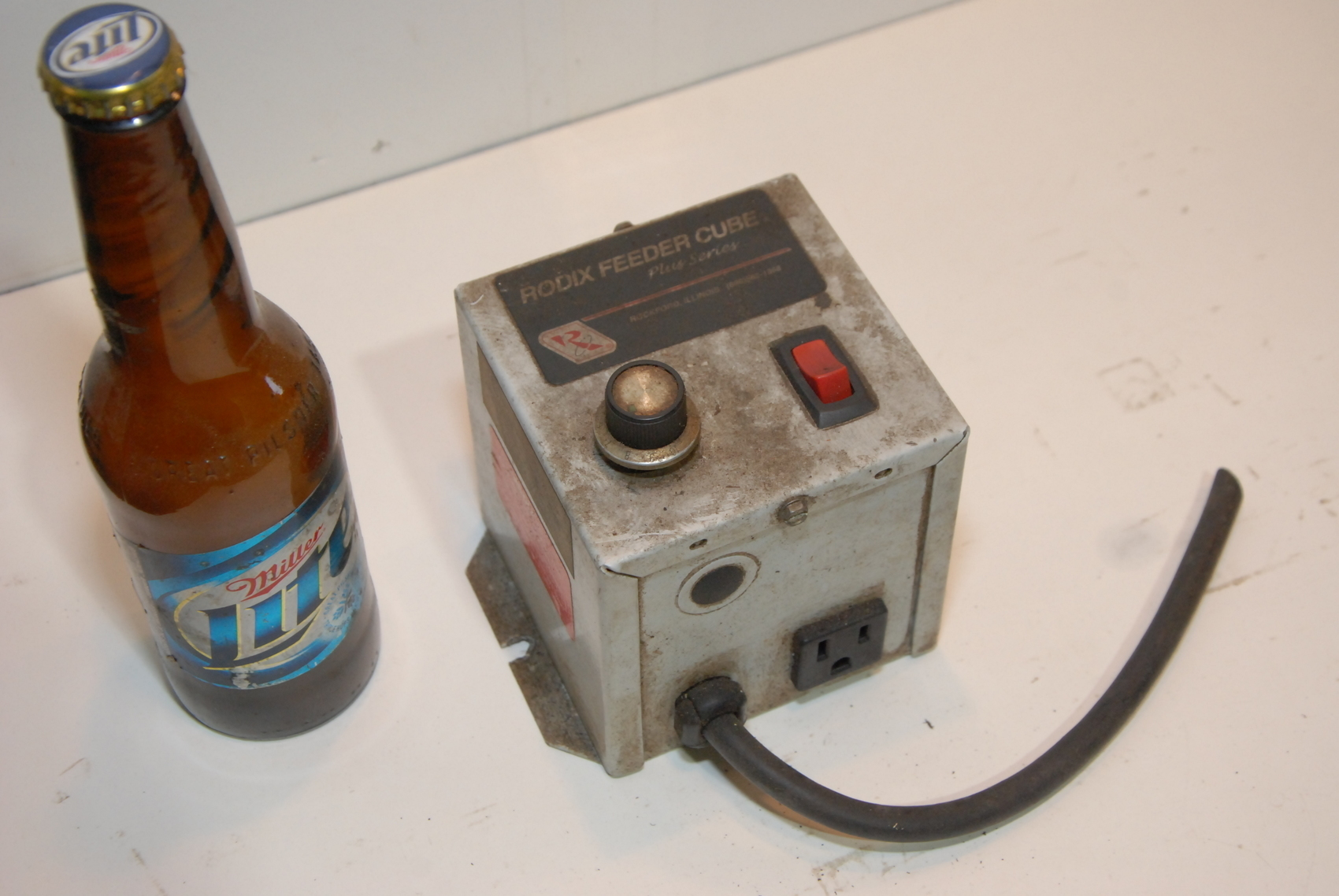 RODIX FEEDER CUBE controller PLUS SERIES FC-43.PLUS.P/N.121-880
