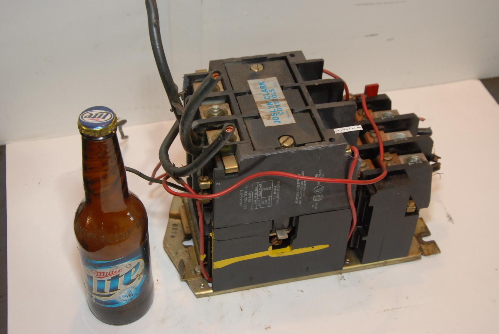 JOSLYN CLARK T13U033(SIZE 3)90 Amp CONTACTOR