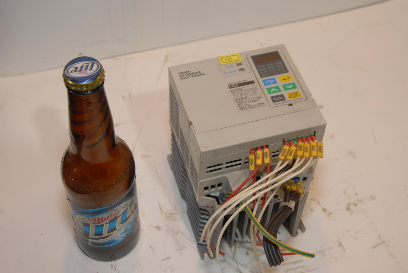 Omron Sysdrive 3G3EV-A2015-E 3G3EV Inverter Drive vfd