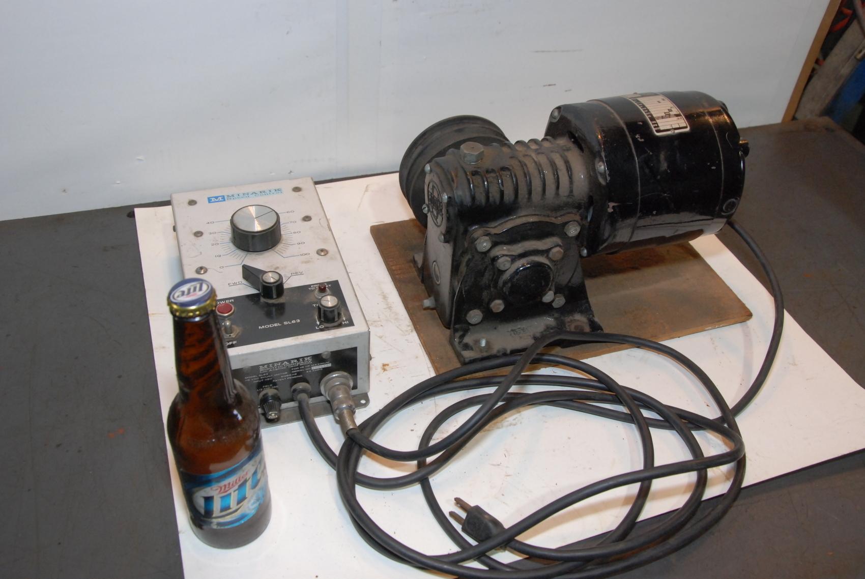Bodine Electric NSH-55RH Gear Motor 115V 2.3A 1/4HP