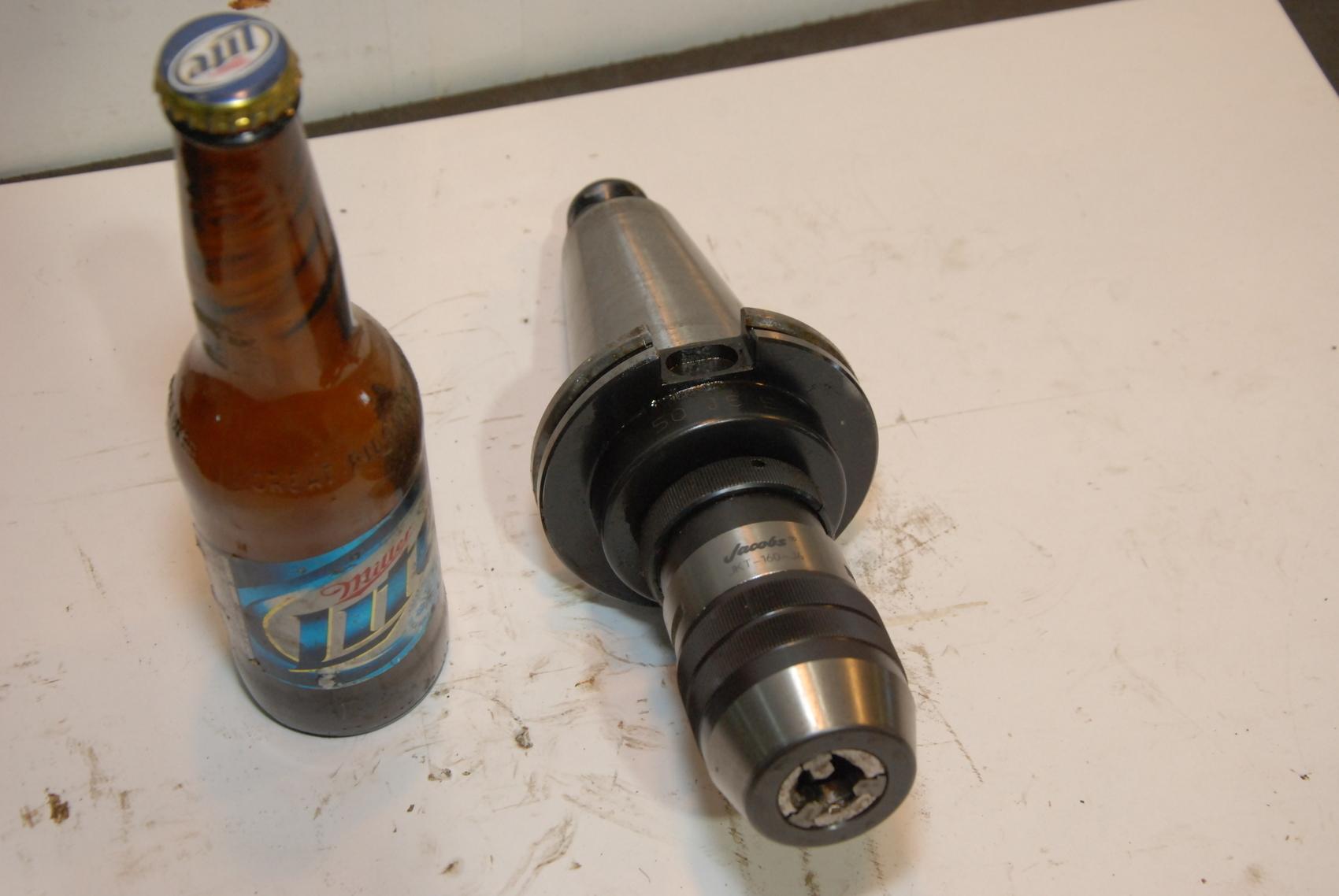 Jacobs JKT160-J6 Hi-Torque Industrial Keyless Drill Chuck W/HOLDER