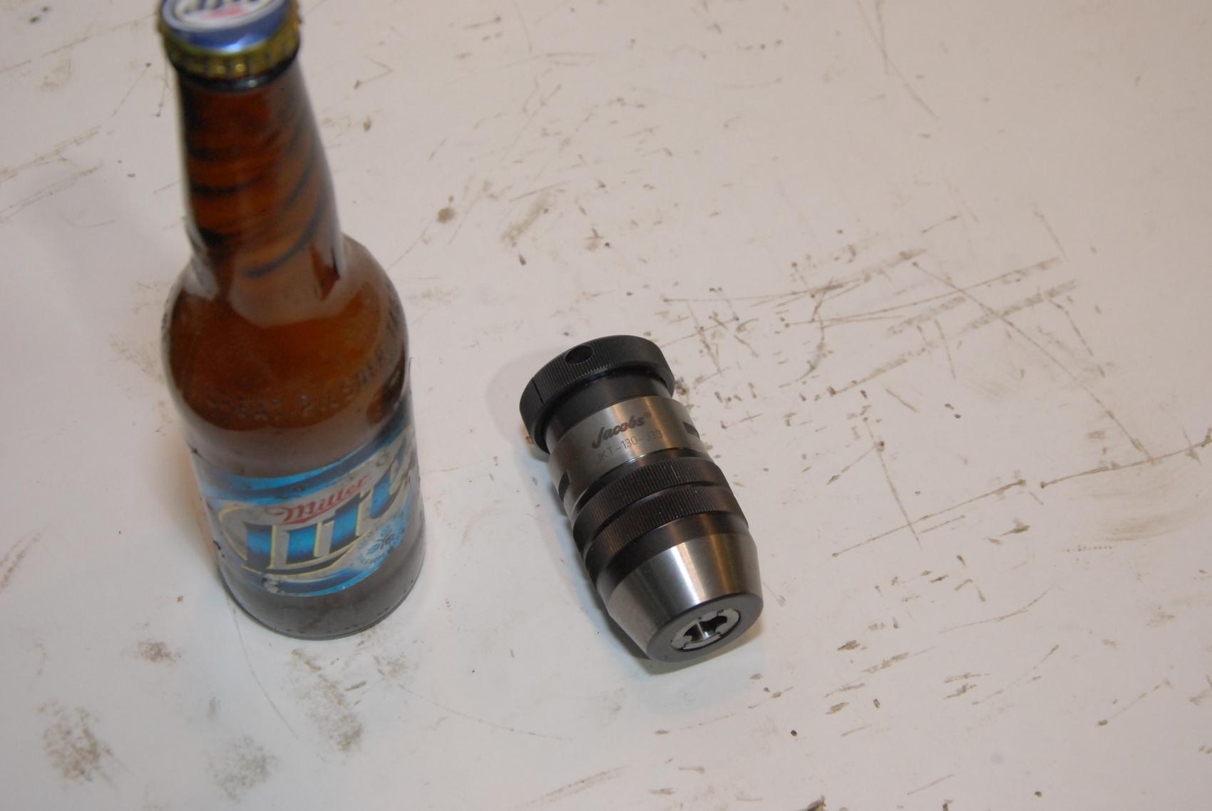 Jacobs JKT130-J33 Hi-Torque Industrial Keyless Drill Chuck