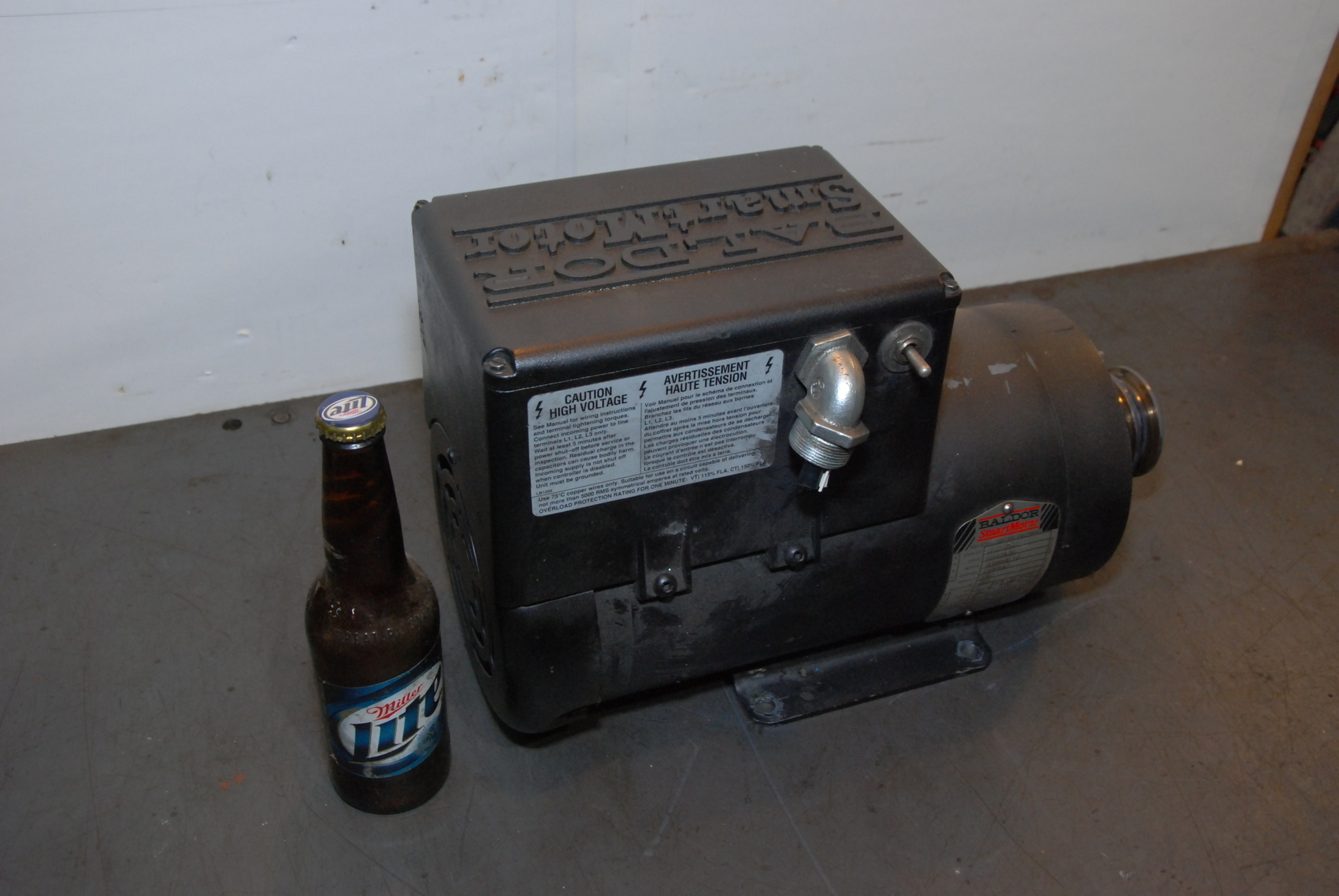 Baldor AC Motor SmartMotor CSM3558T-2,2 HP,230 Volt,3 PHASE