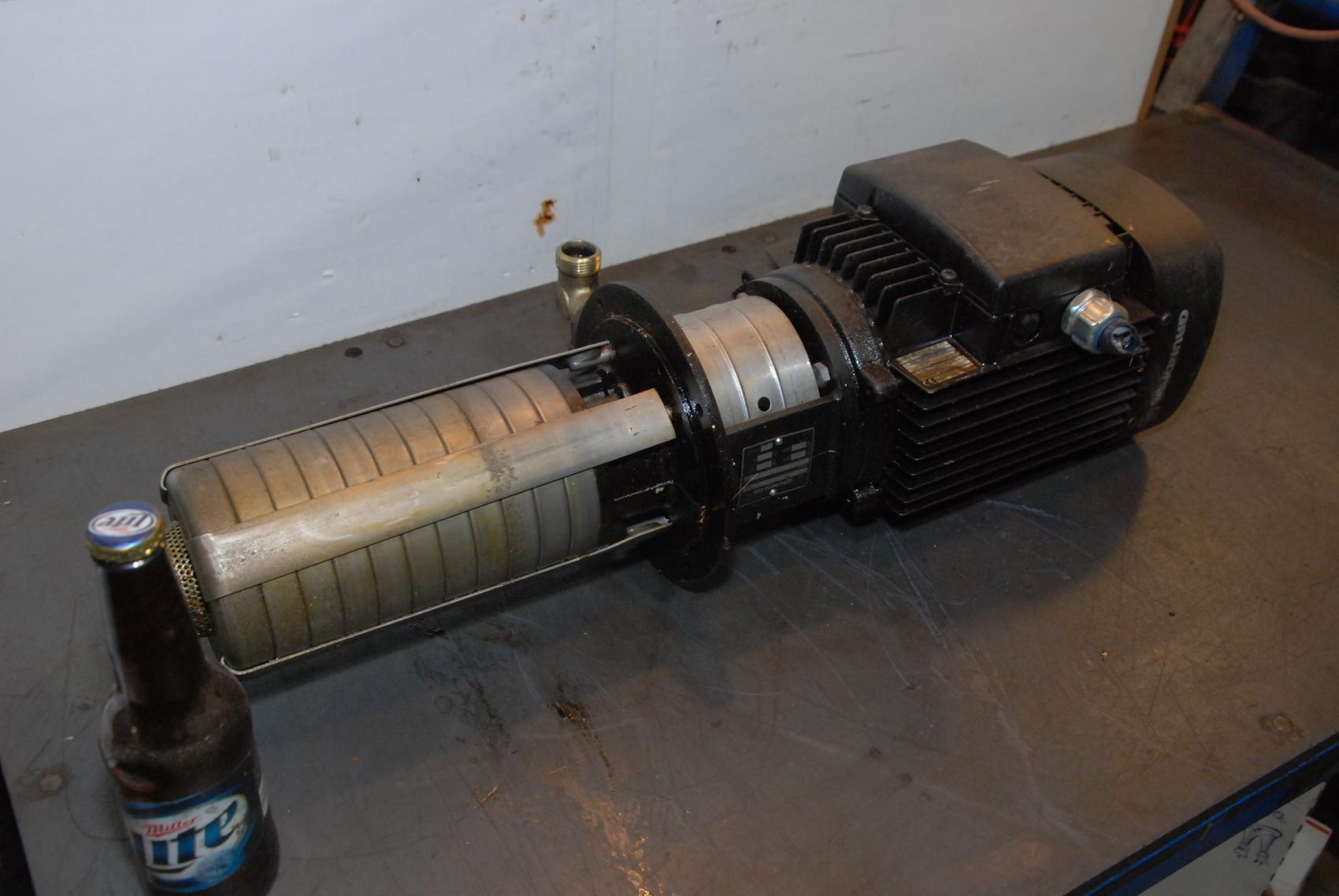 GRUNDFOS MOTOR PUMP MG 100LA2-24FT115-B,CRK2-90 CENTRIFUGAL PUMP